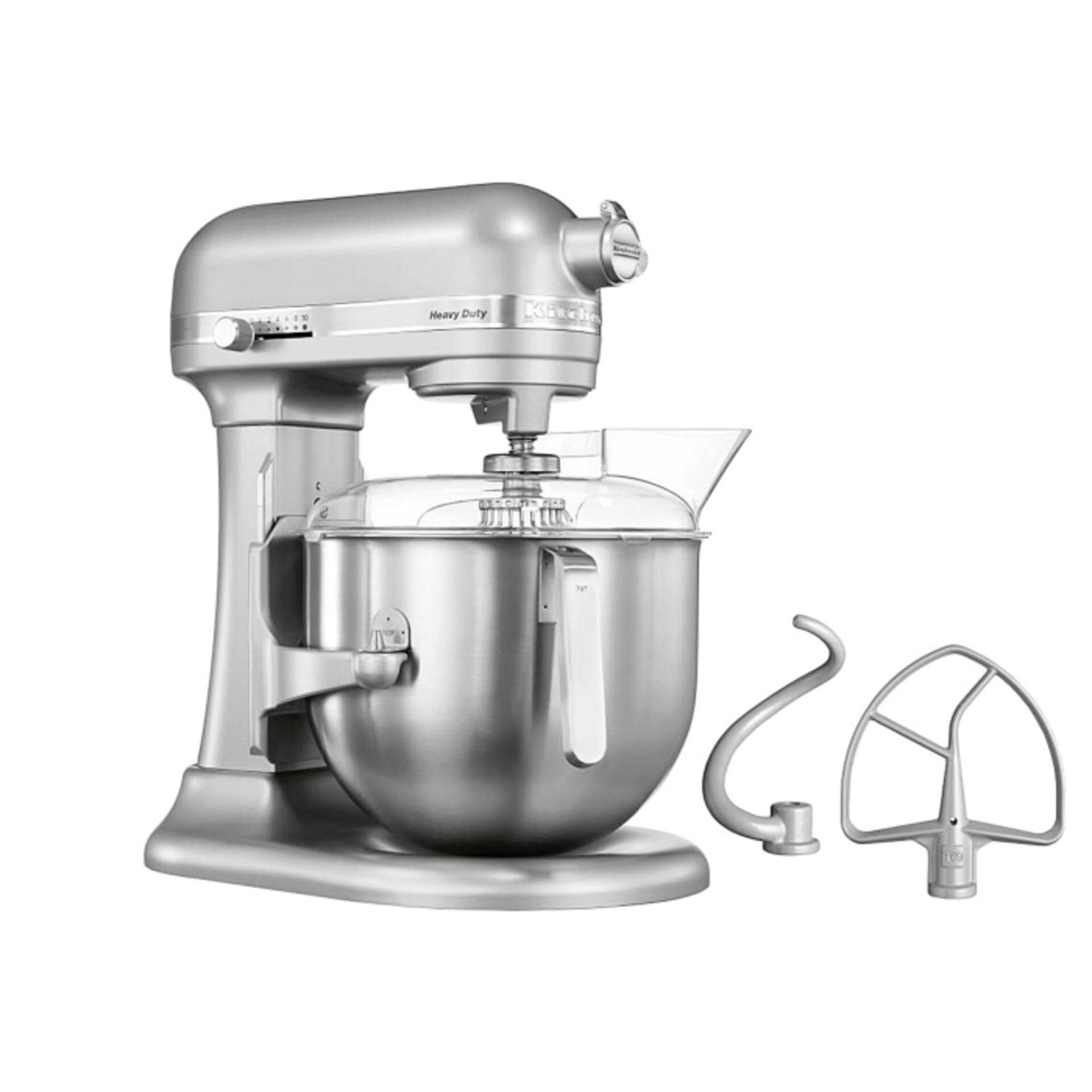 Kitchenaid Heavy Duty Küchenmaschine 6,9 Liter 5KSM7591XESM Silber