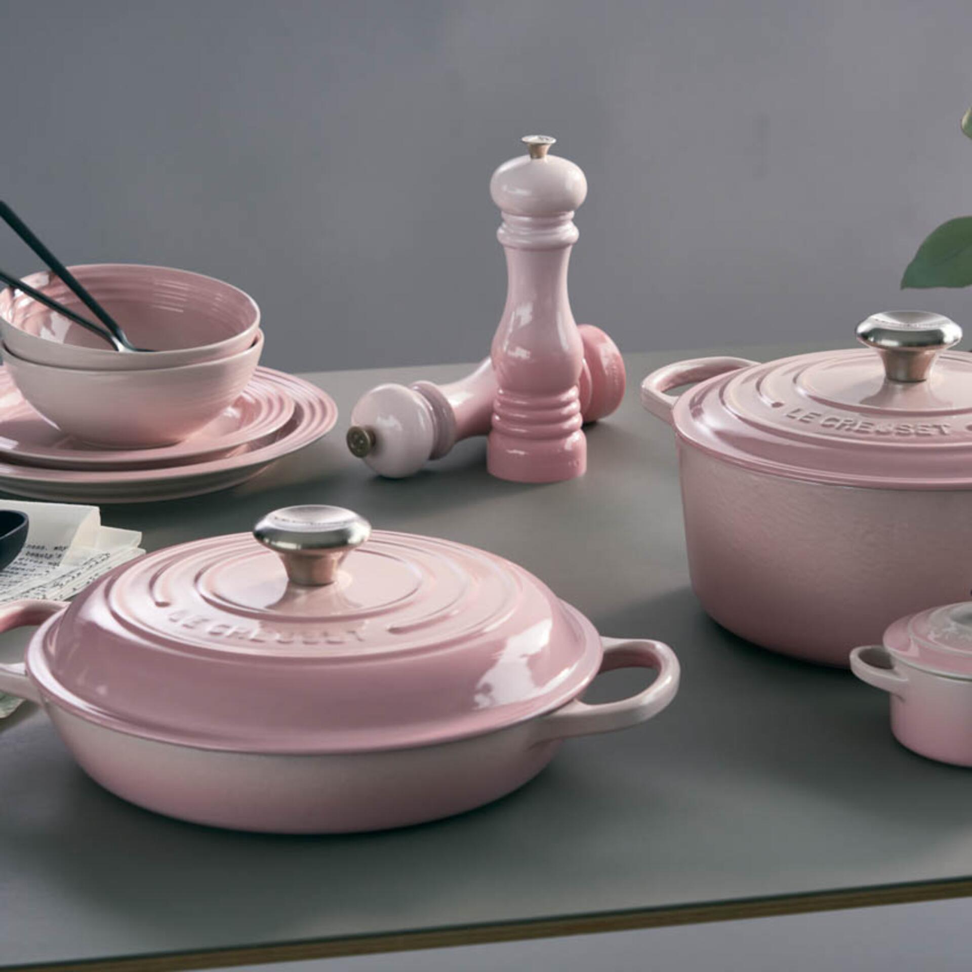 Le Creuset Pfeffermühle Shell Pink 21 cm