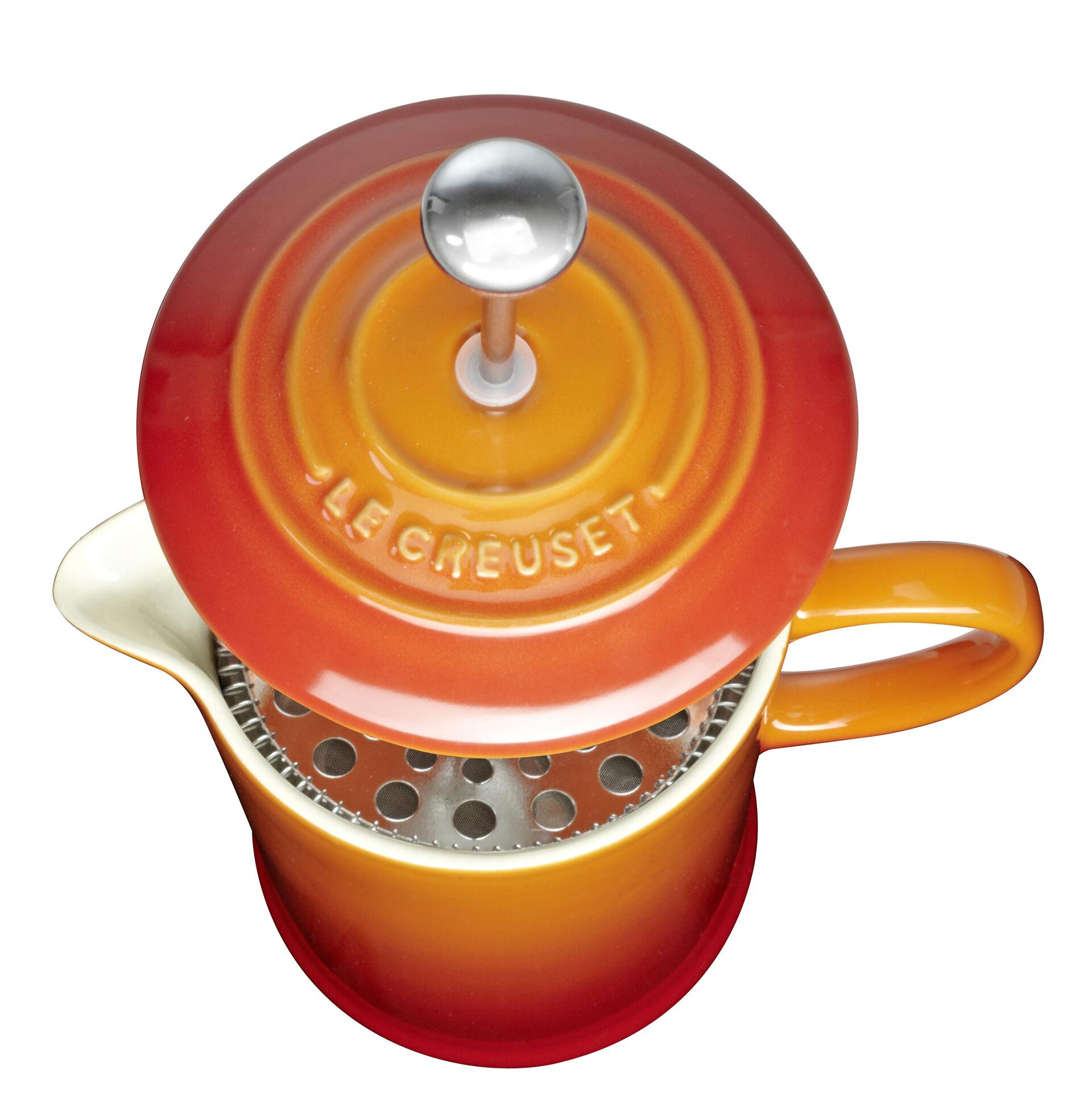Le Creuset Kaffee-Bereiter Ofenrot