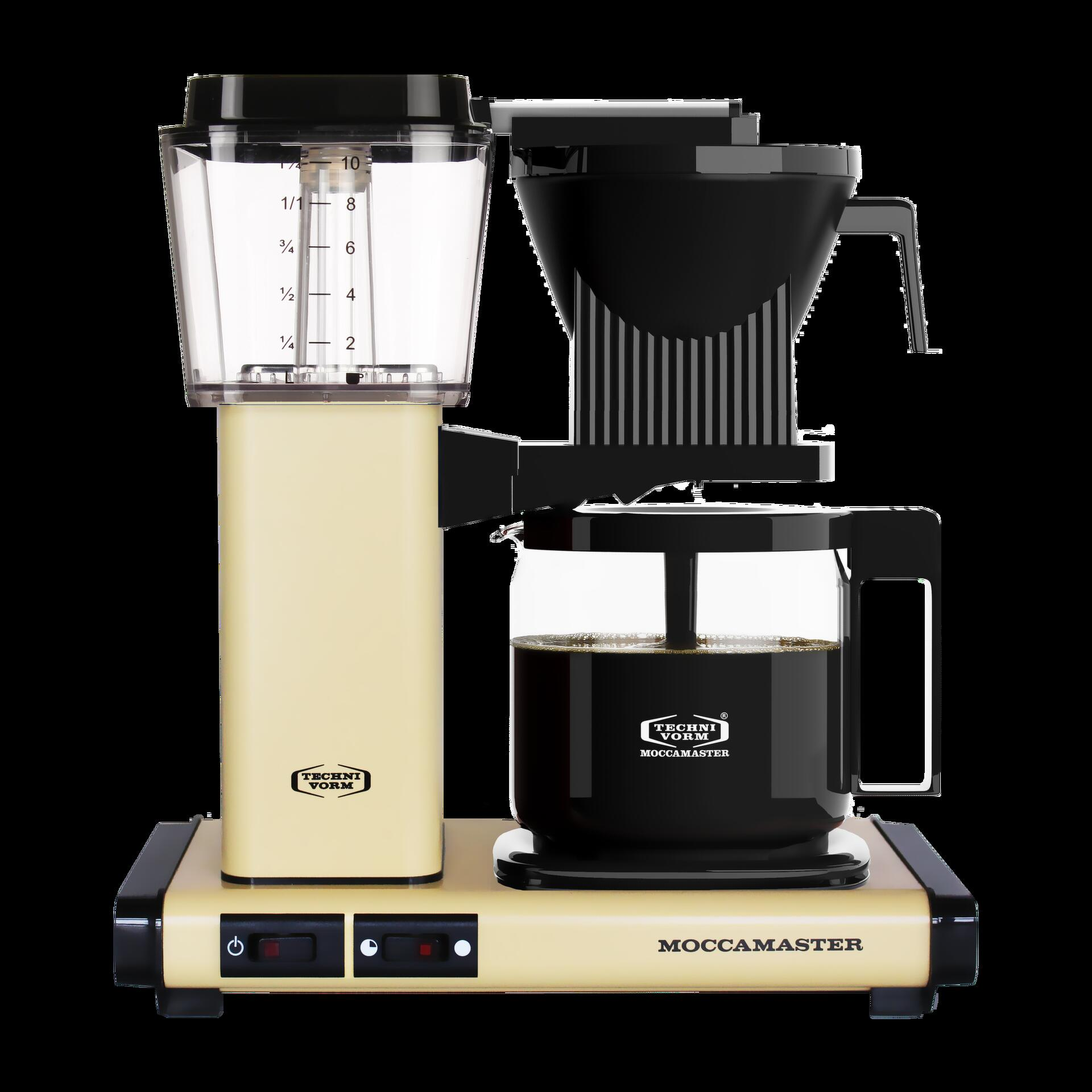 Moccamaster Kaffeemaschine KBG Select Pastell Gelb
