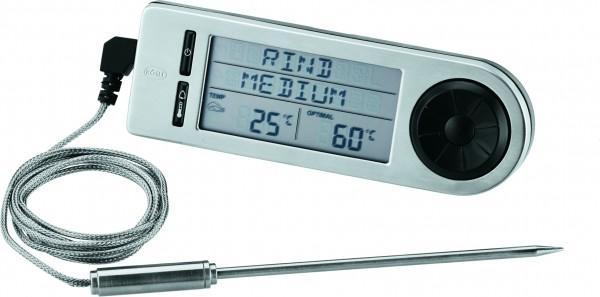 RÖSLE Bratenthermometer digital Edelstahl Meßfühler