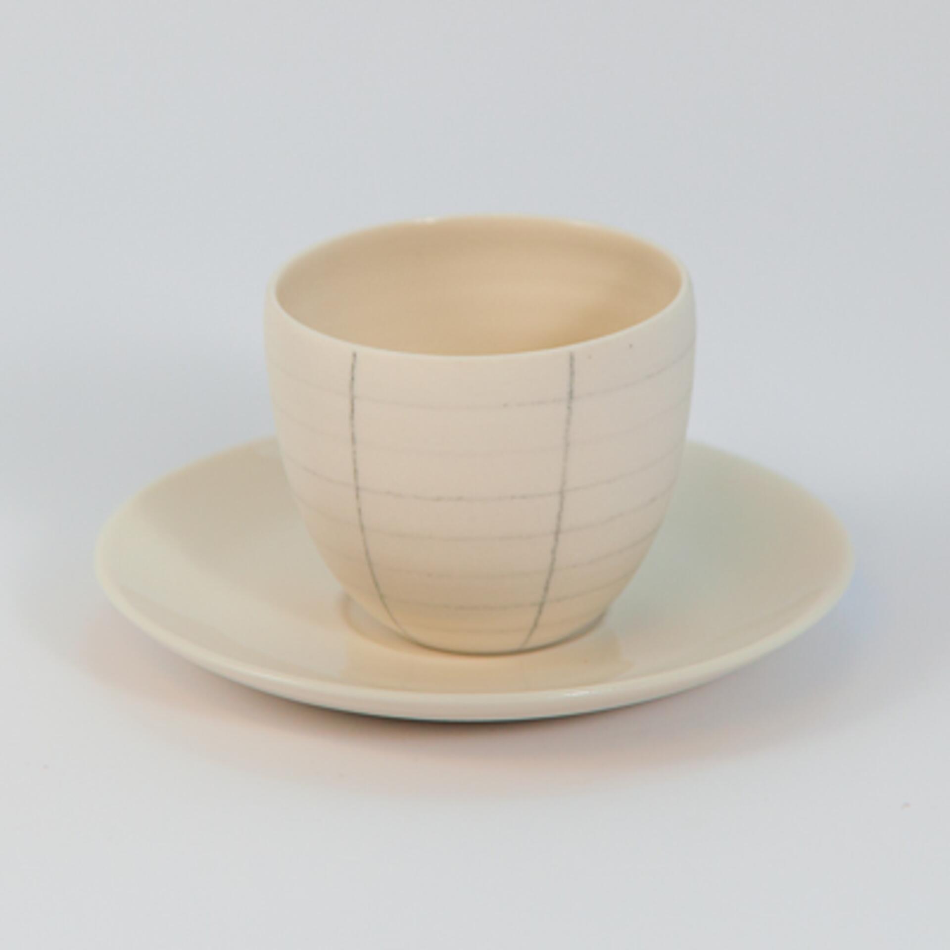 Schoemig Porzellan Espressotasse Graph Rechteck 2