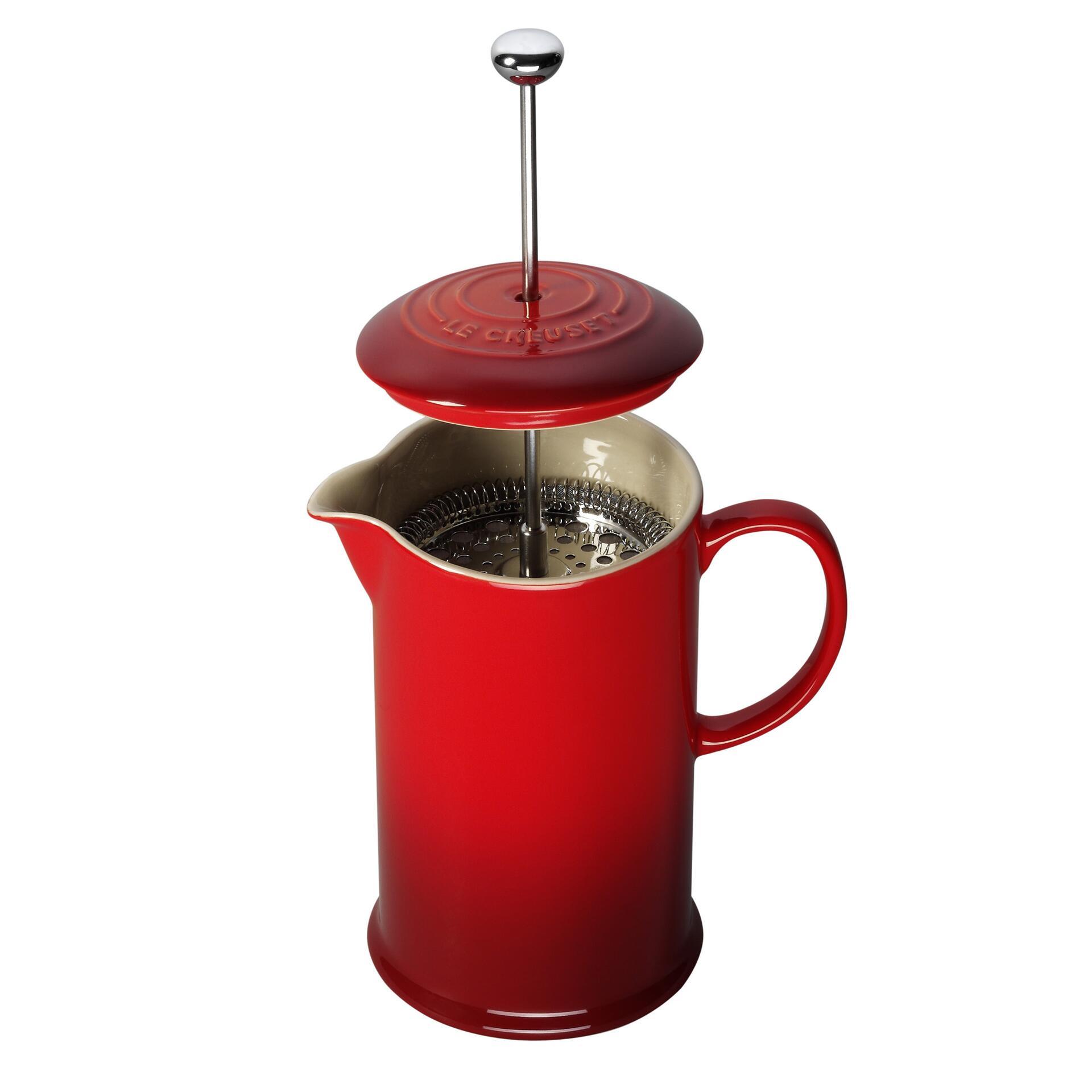 Le Creuset Kaffee-Bereiter Kirschrot
