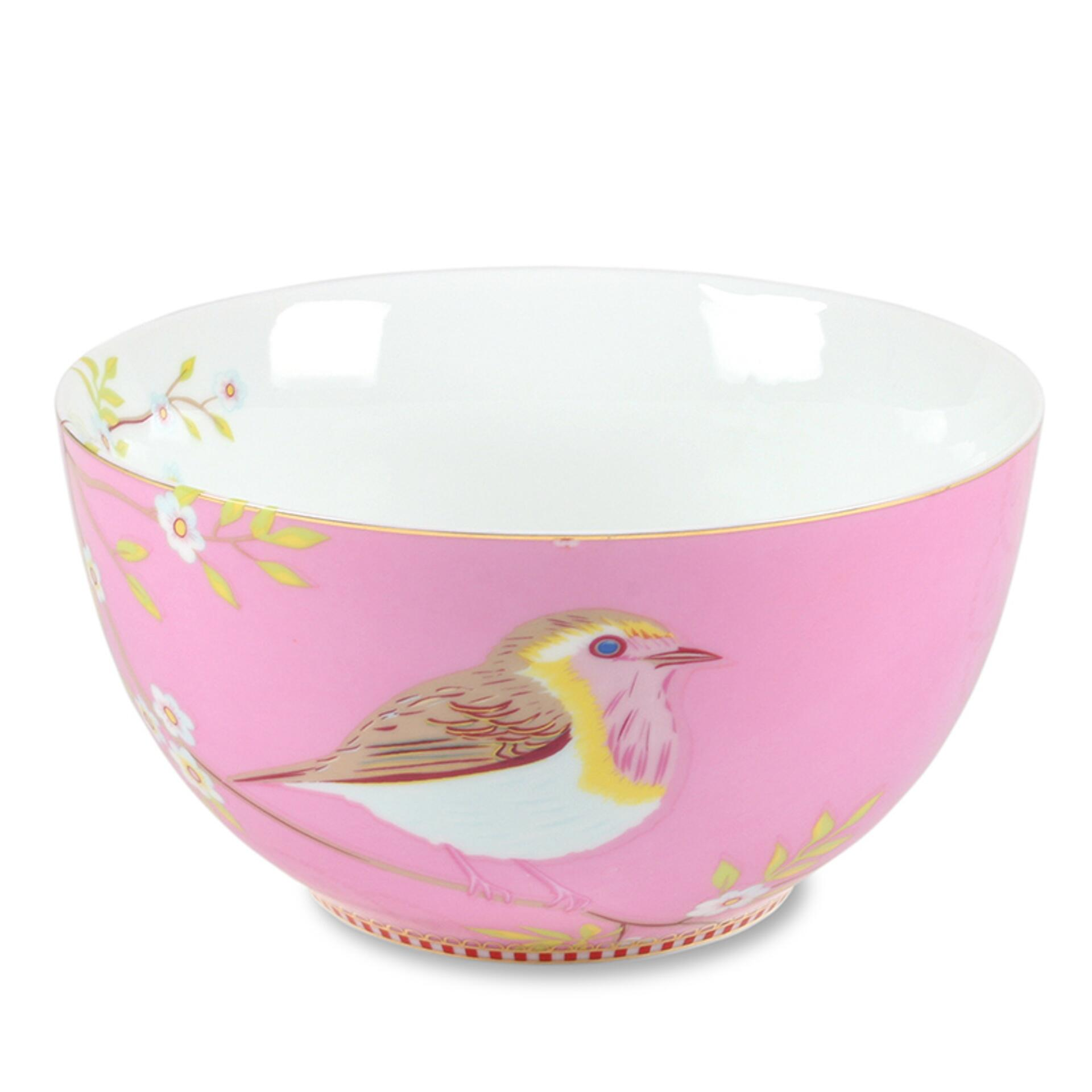 PiP Porzellan Müslischale Early Bird 15 cm Pink