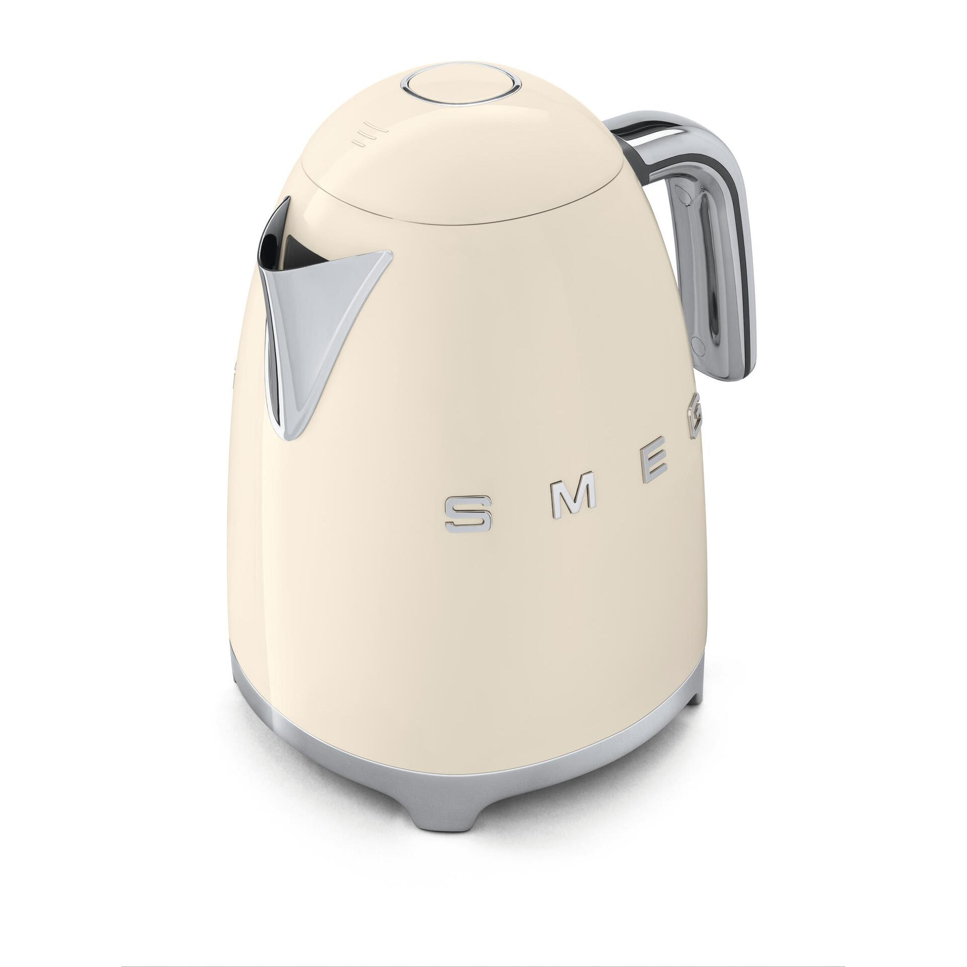 Smeg Retro Wasserkocher 1,7 Liter Creme