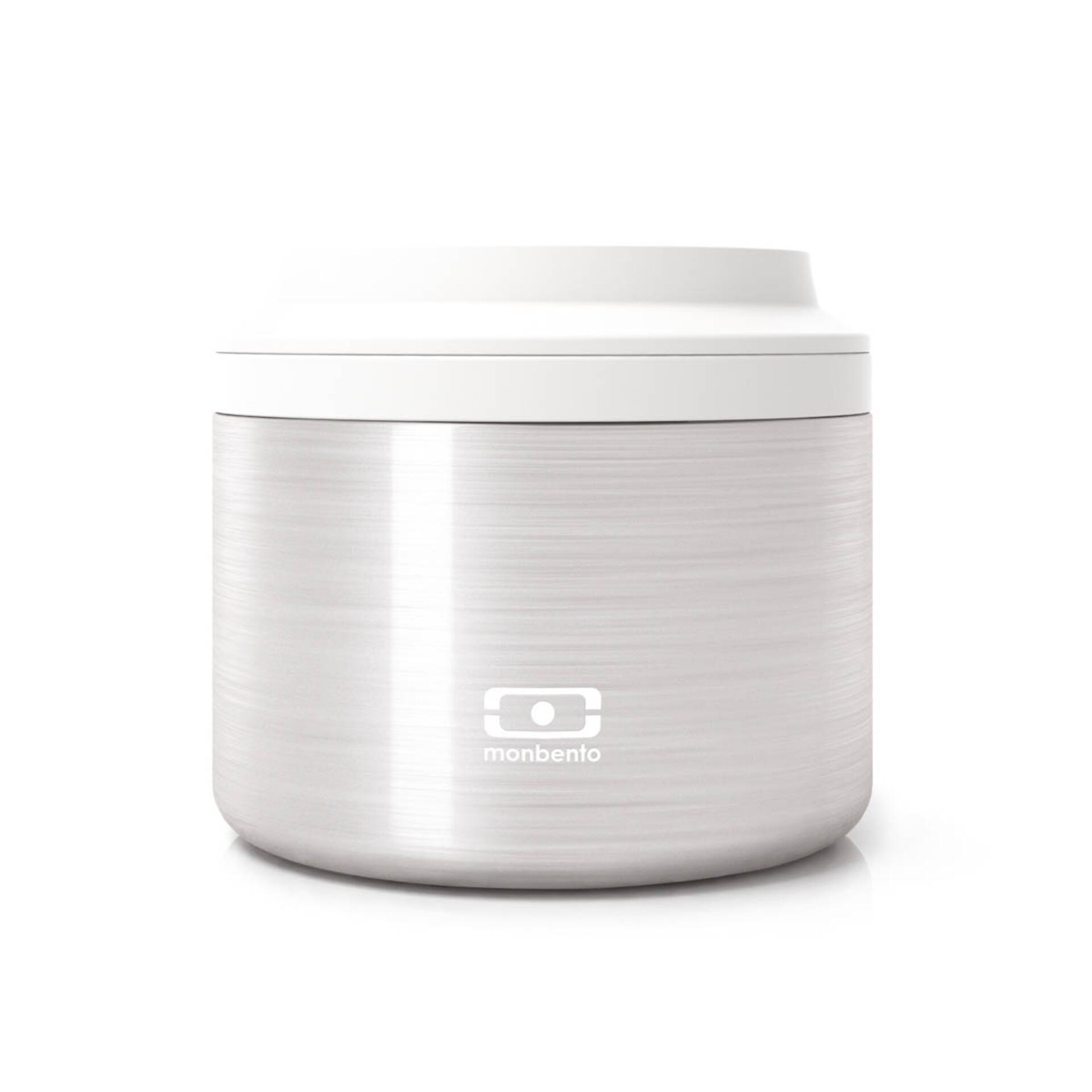 Monbento MB Element Bento Box 650 ml Silver
