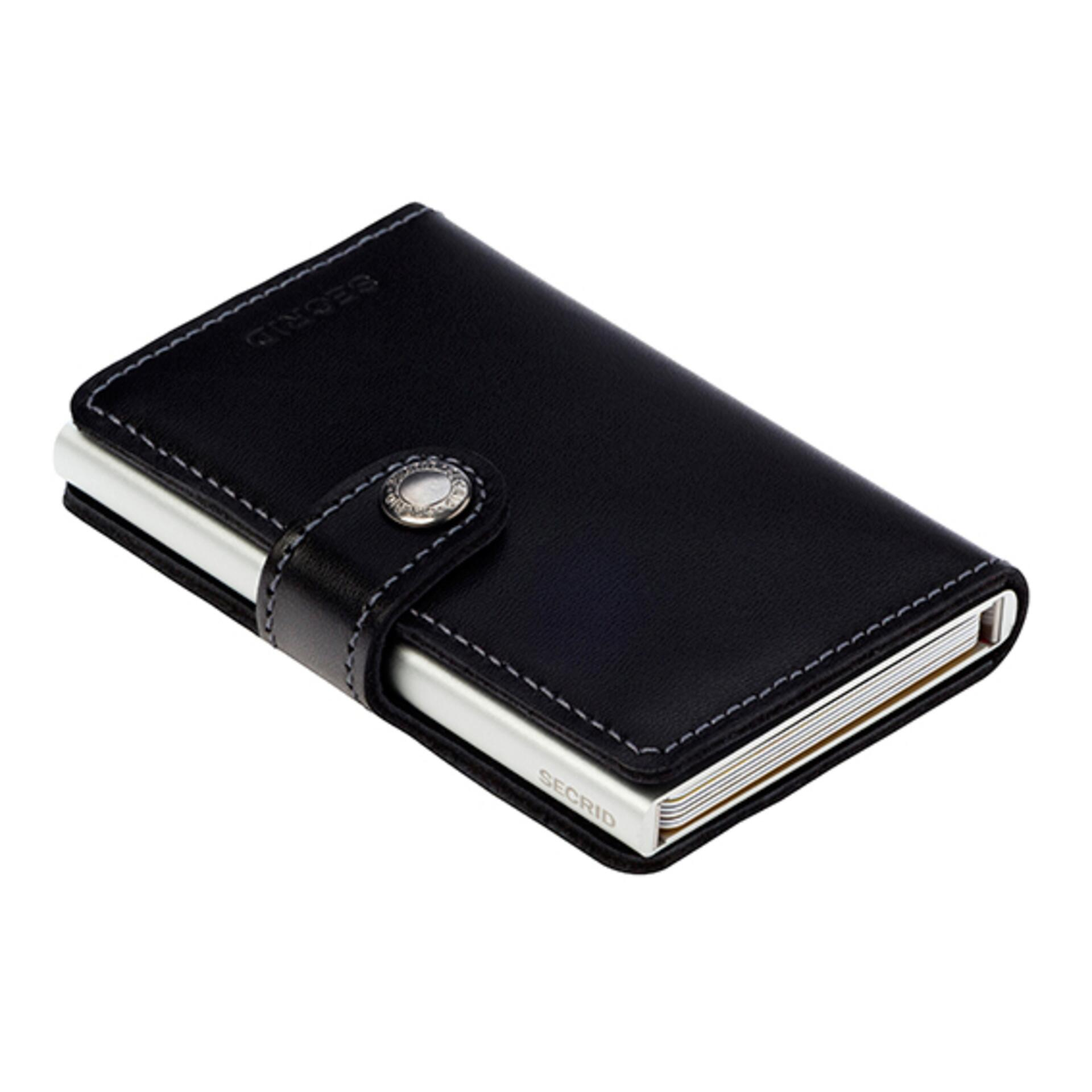 Secrid Miniwallet Original Black Leder