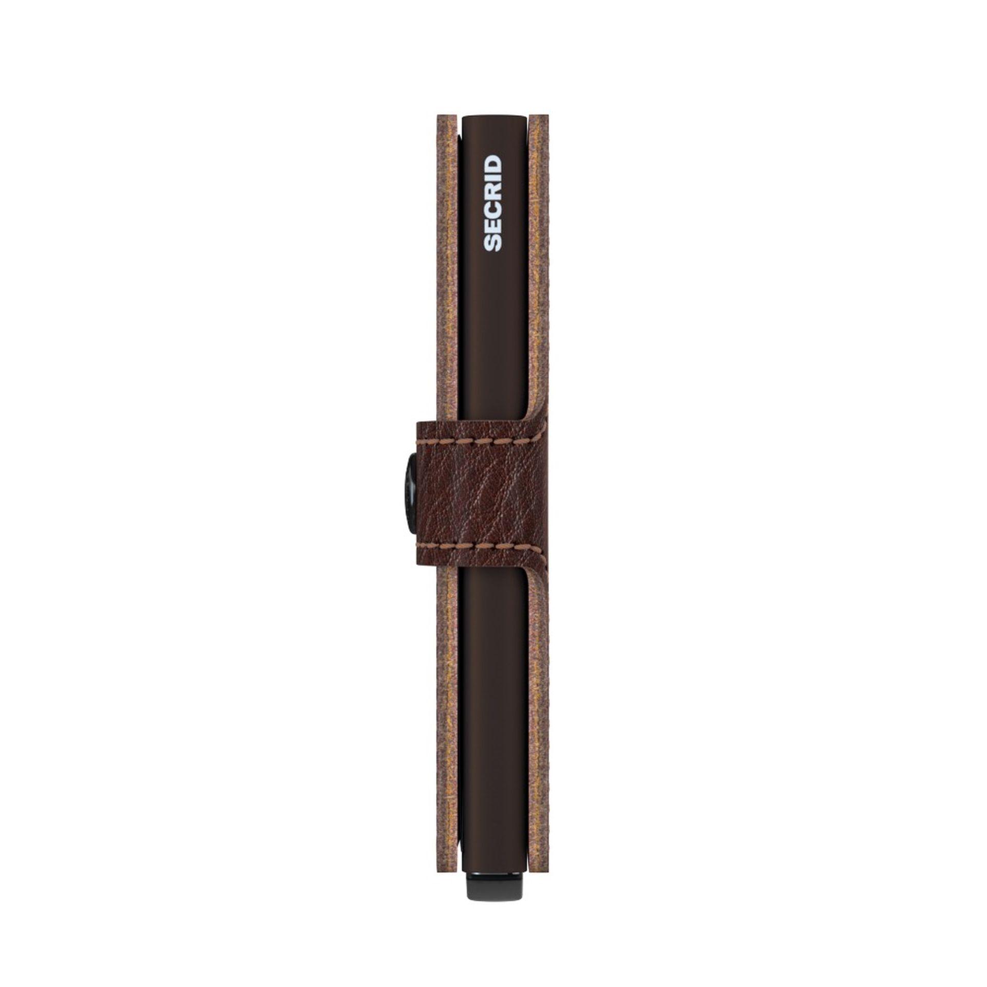 Secrid Miniwallet  Vegetable Tanned Espresso-Brown