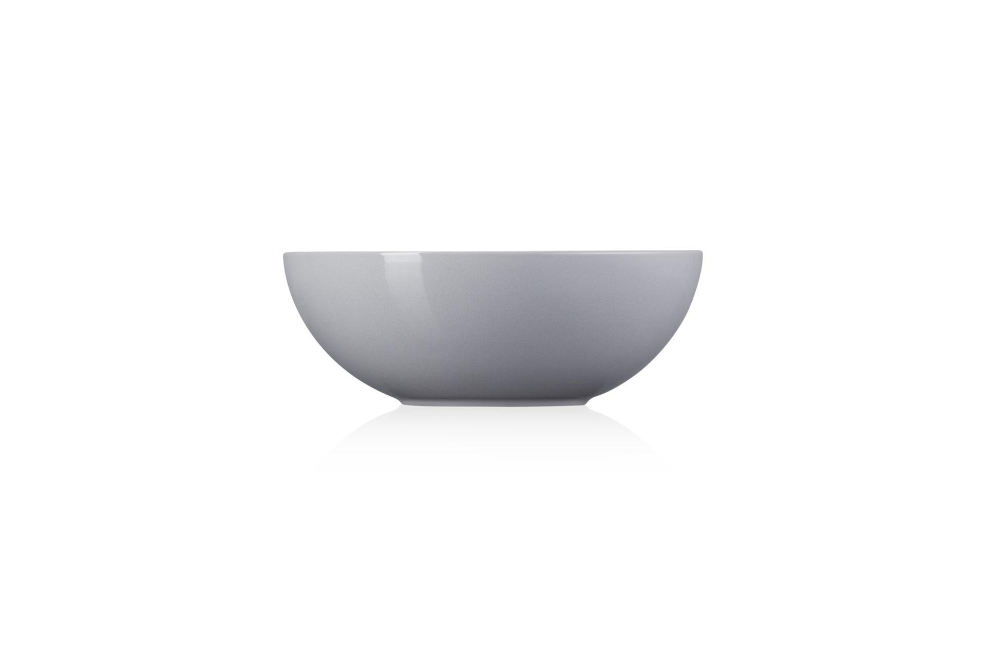 Le Creuset Salatschüssel 24 cm Perlgrau