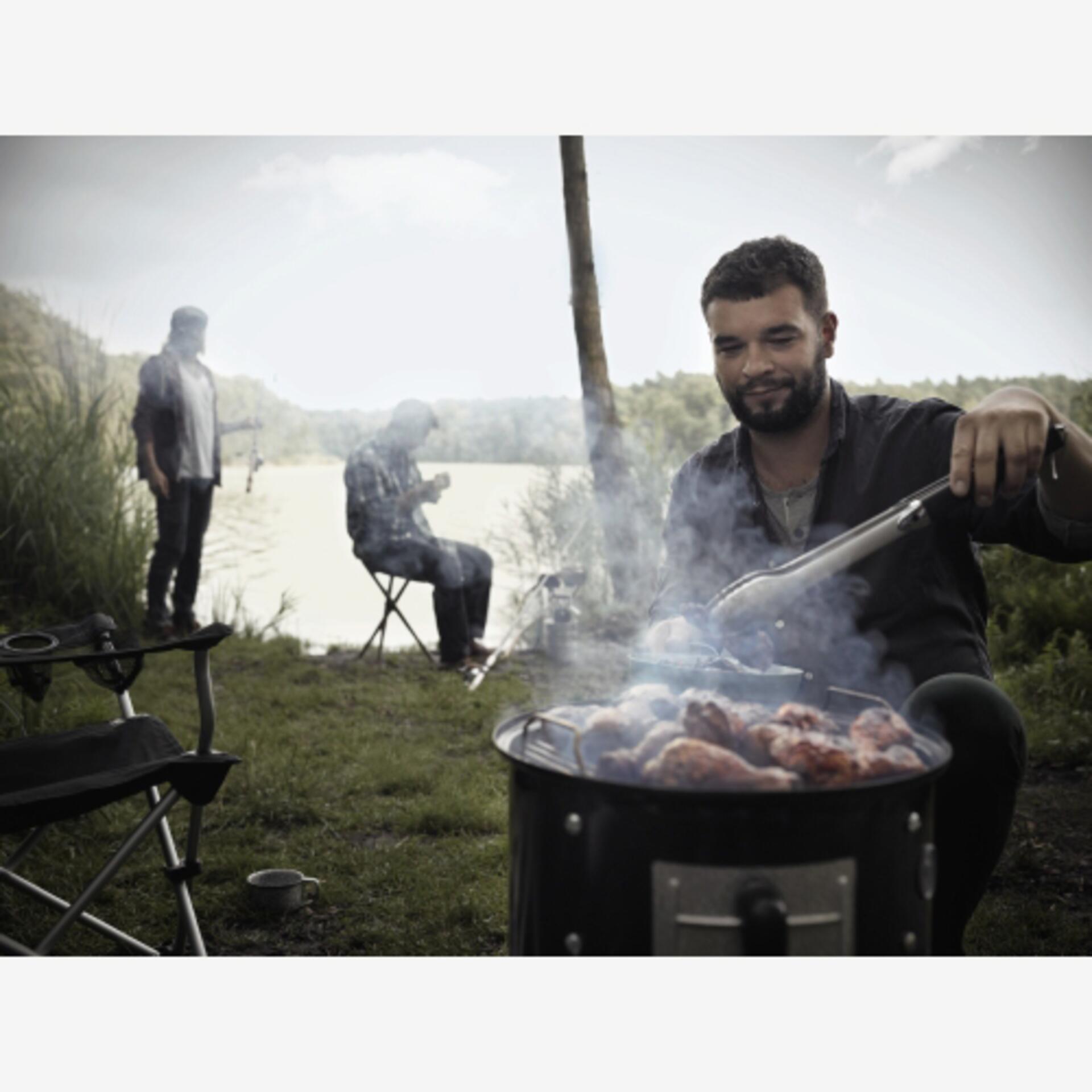 Weber Smokey Mountain Cooker 47 cm Black