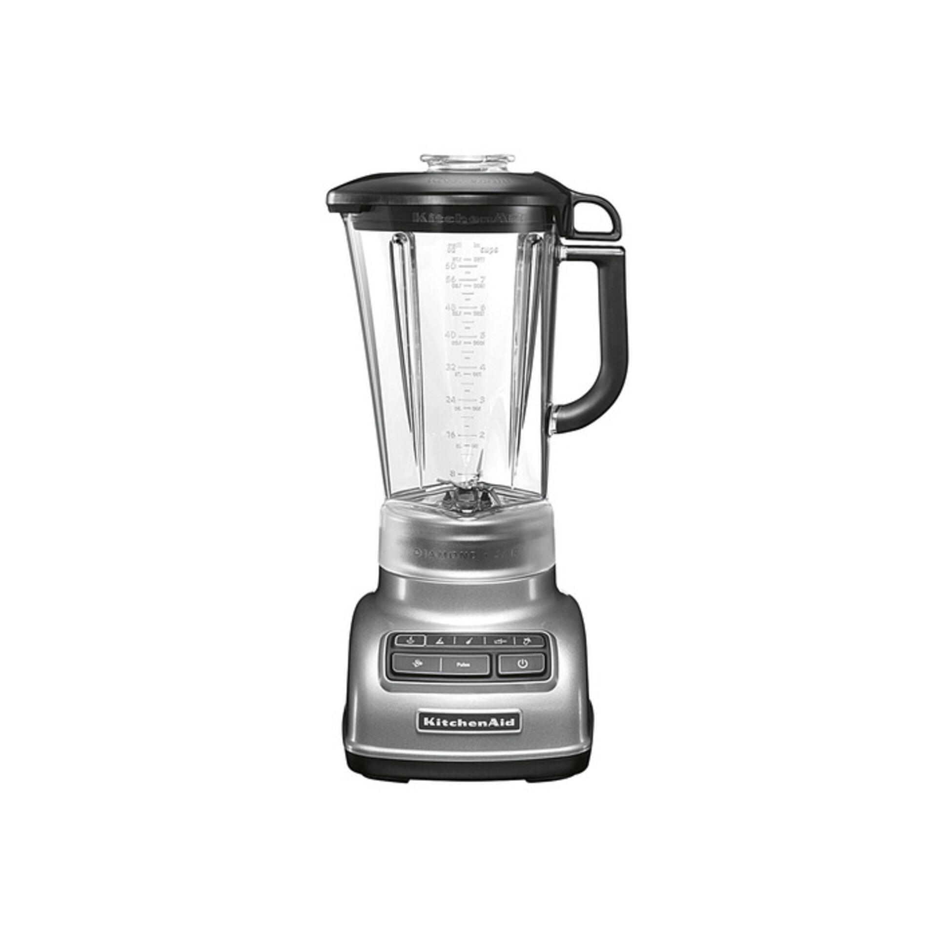 Kitchenaid Blender im Rautendesign Classic Silber 5KSB1585ECU
