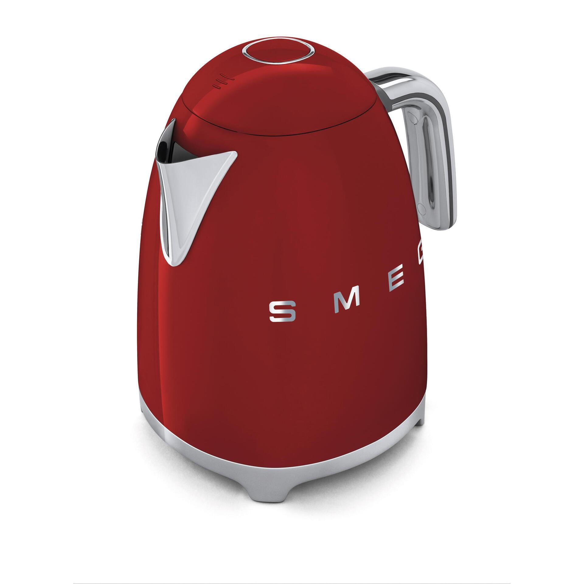 Smeg Retro Wasserkocher 1,7 Liter Rot