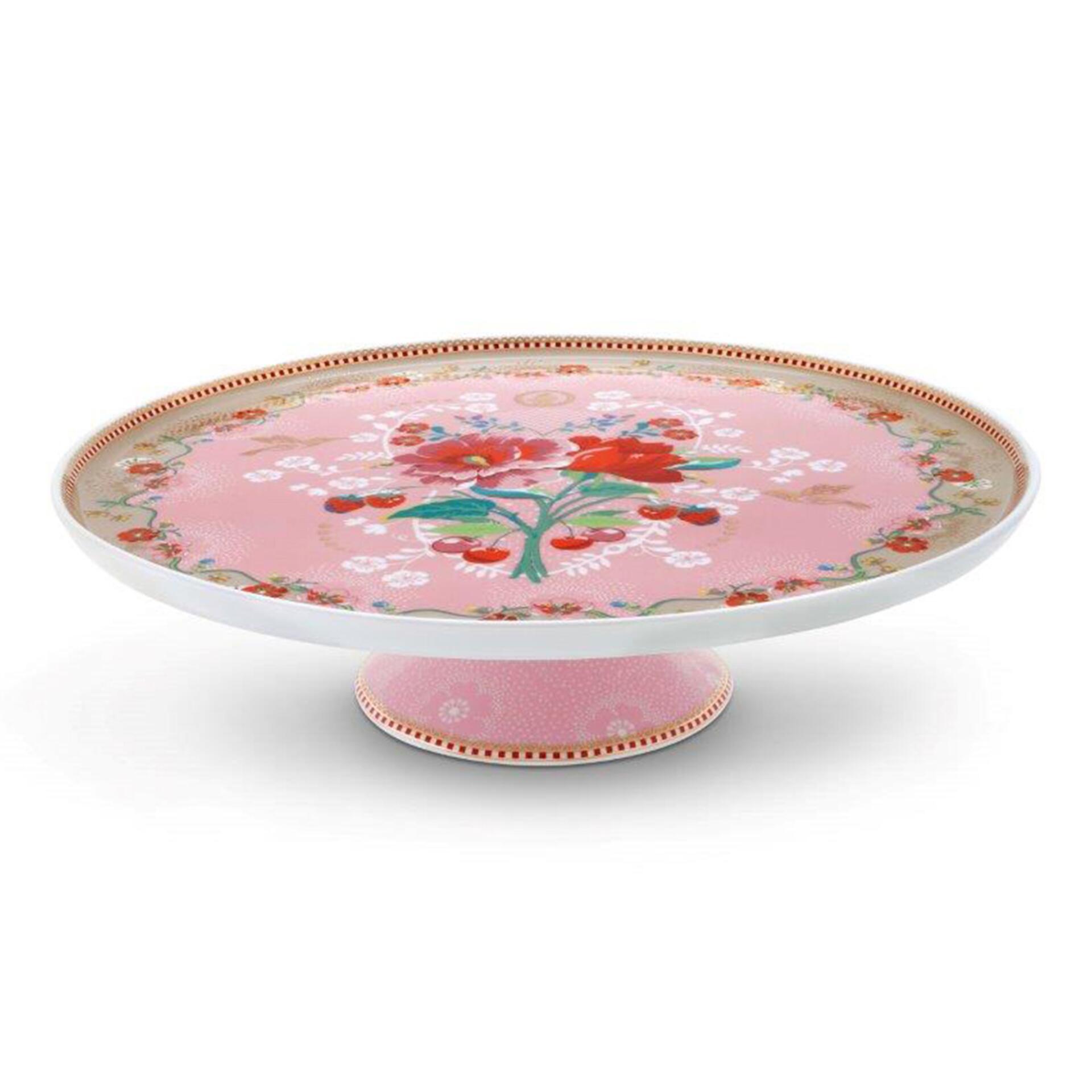 PiP Porzellan Tortenplatte Rose Pink