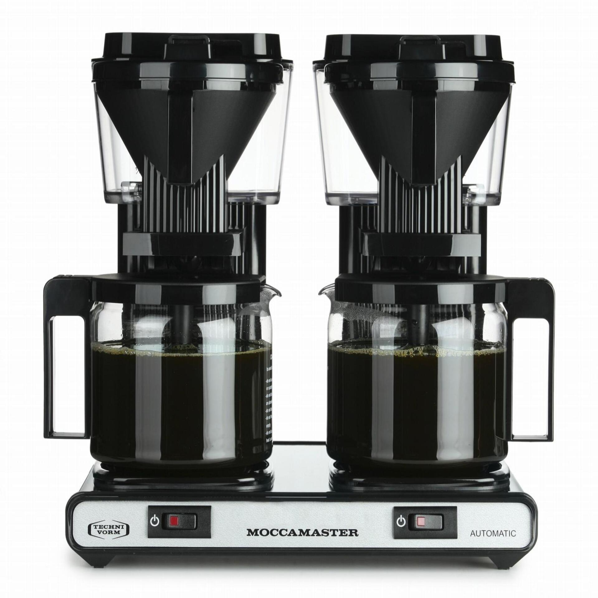 Moccamaster Kaffeemaschine KBG 744 AO Schwarz