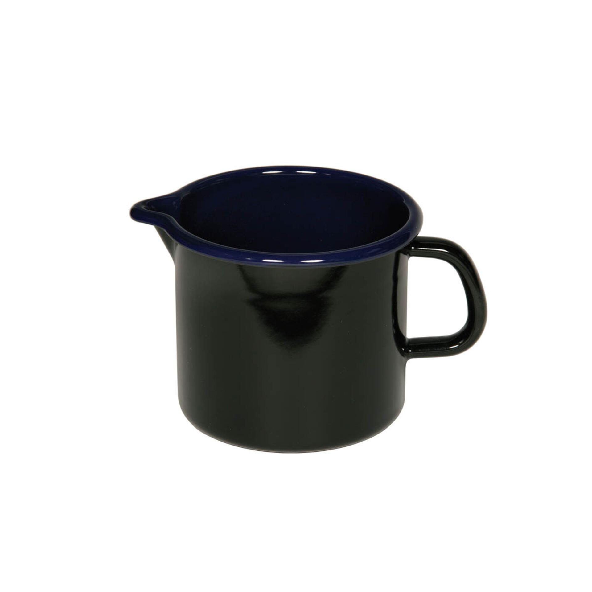 Riess Schnabeltopf 1,0 l Schwarz/blau