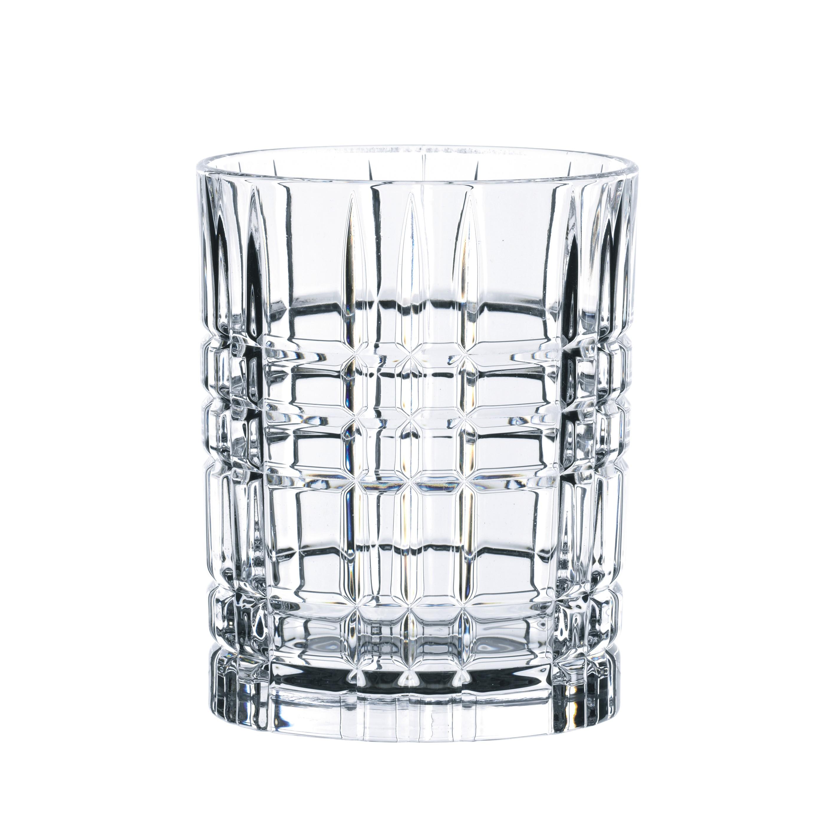 NACHTMANN Cocktailglas Square Whiskey 345ml 4er Set