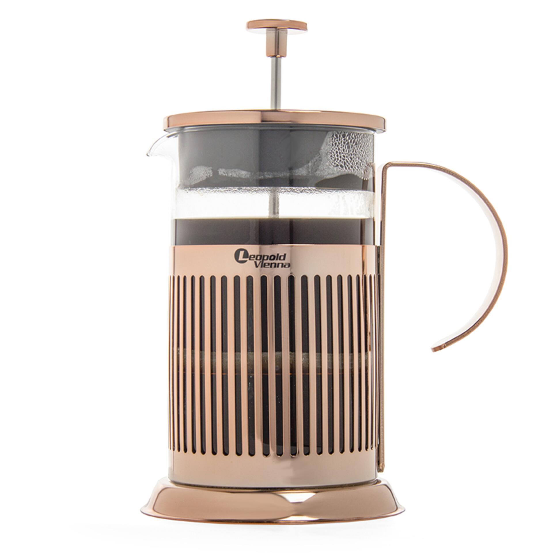 Leopold Vienna Kaffeebereiter French Press Kupfer 800 ml