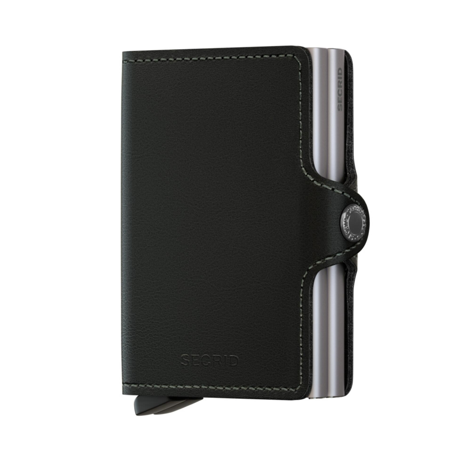 Secrid Twinwallet Original Black Leder