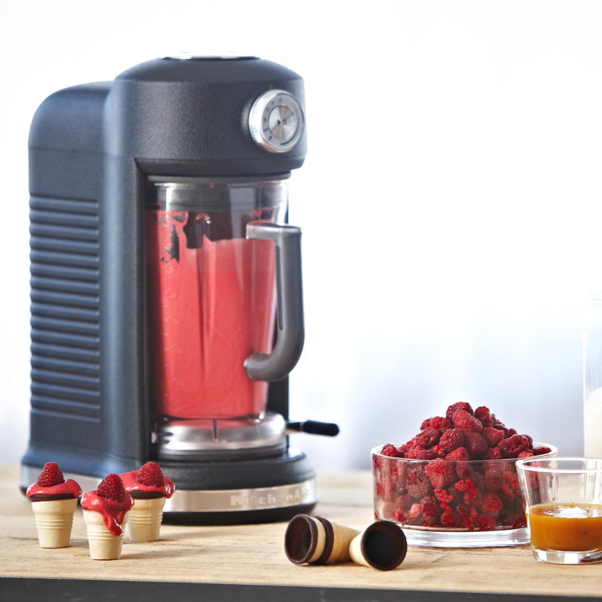KitchenAid Artisan Mixer Magnetic Drive Blender 5KSB5080EOB Schwarz