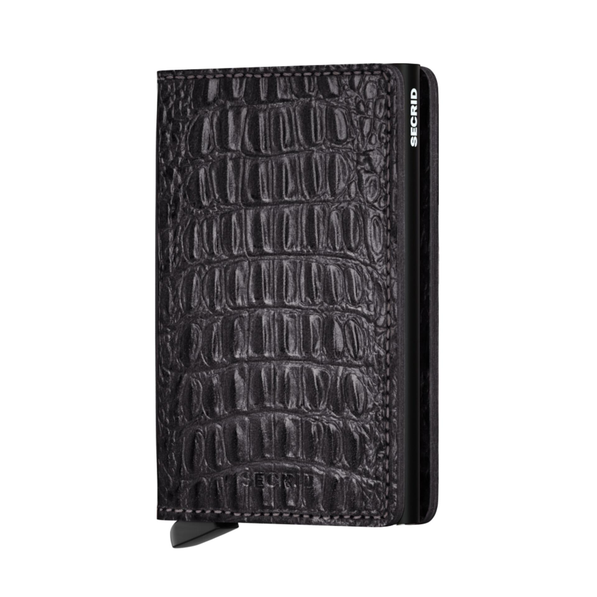 Secrid Slimwallet Nile Black Leder