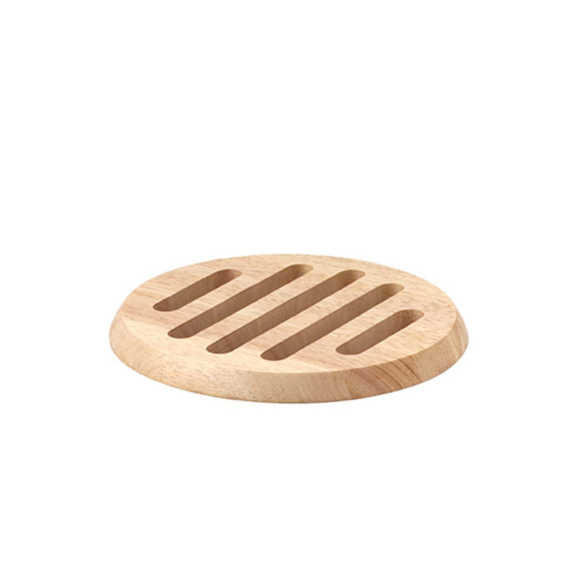 Continenta Untersetzer rund Holz 20 cm