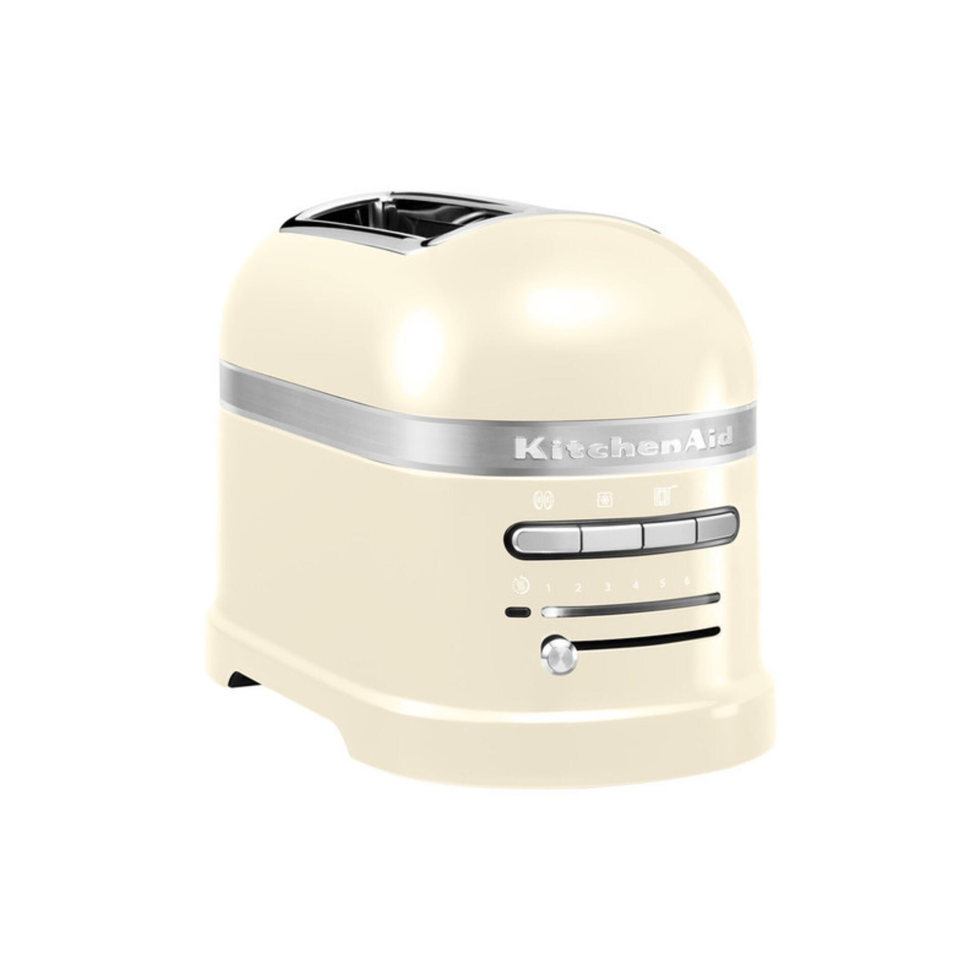 Kitchenaid 2-Scheiben-Toaster Crème 5KMT2204EAC