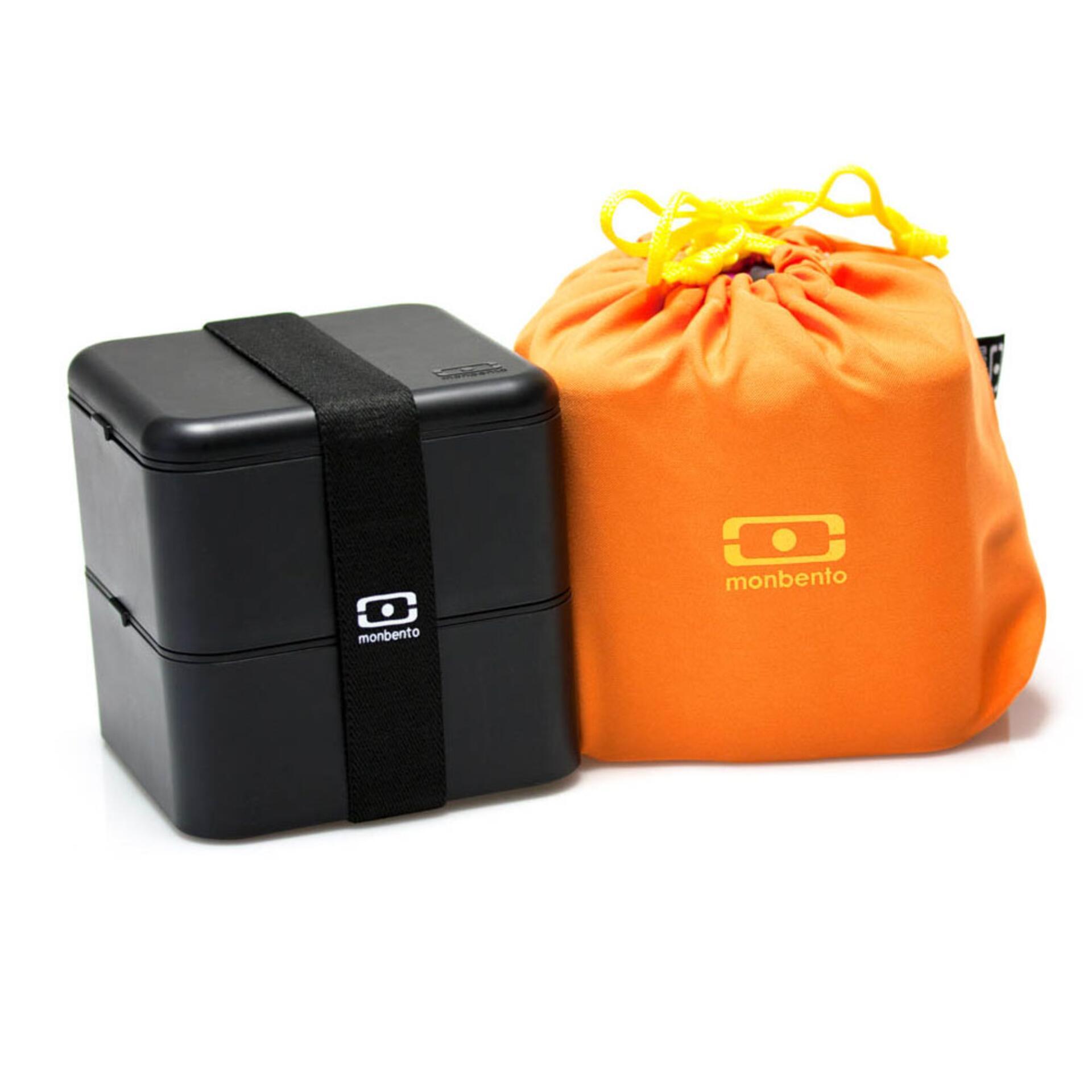 Monbento MB Square Bento Box 1,7 Liter Schwarz