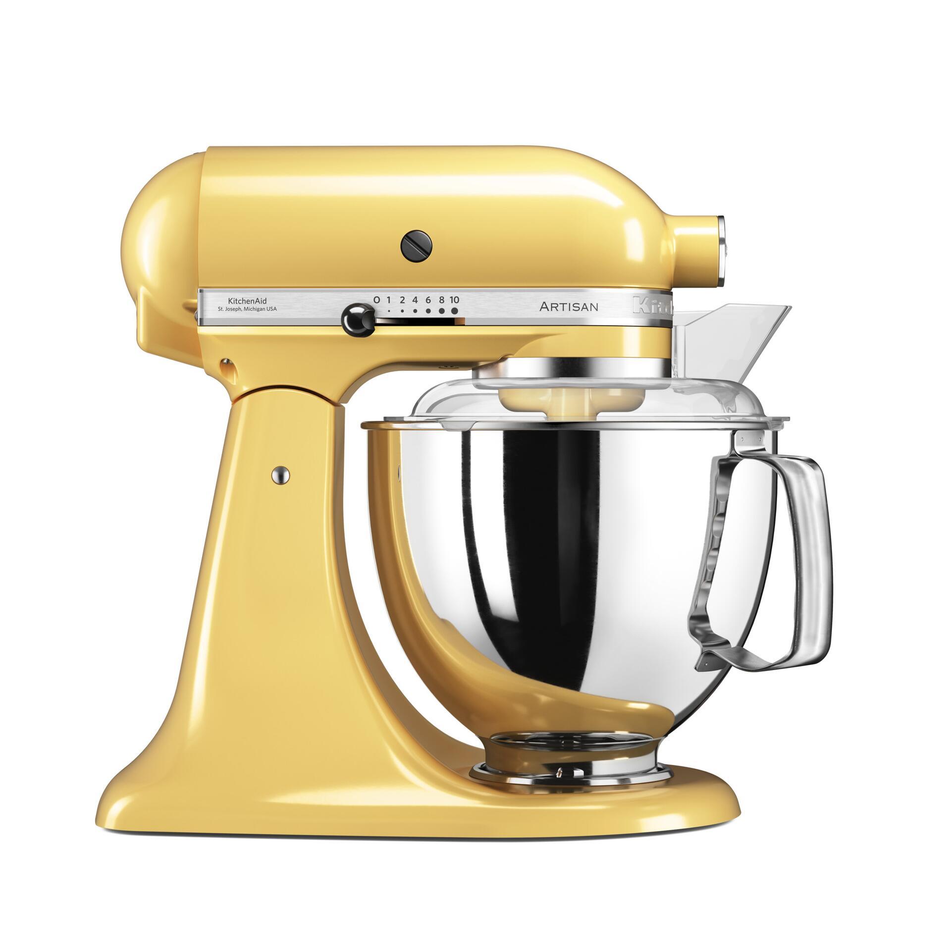 Kitchenaid Küchenmaschine Pastellgelb 5KSM175PSEMY