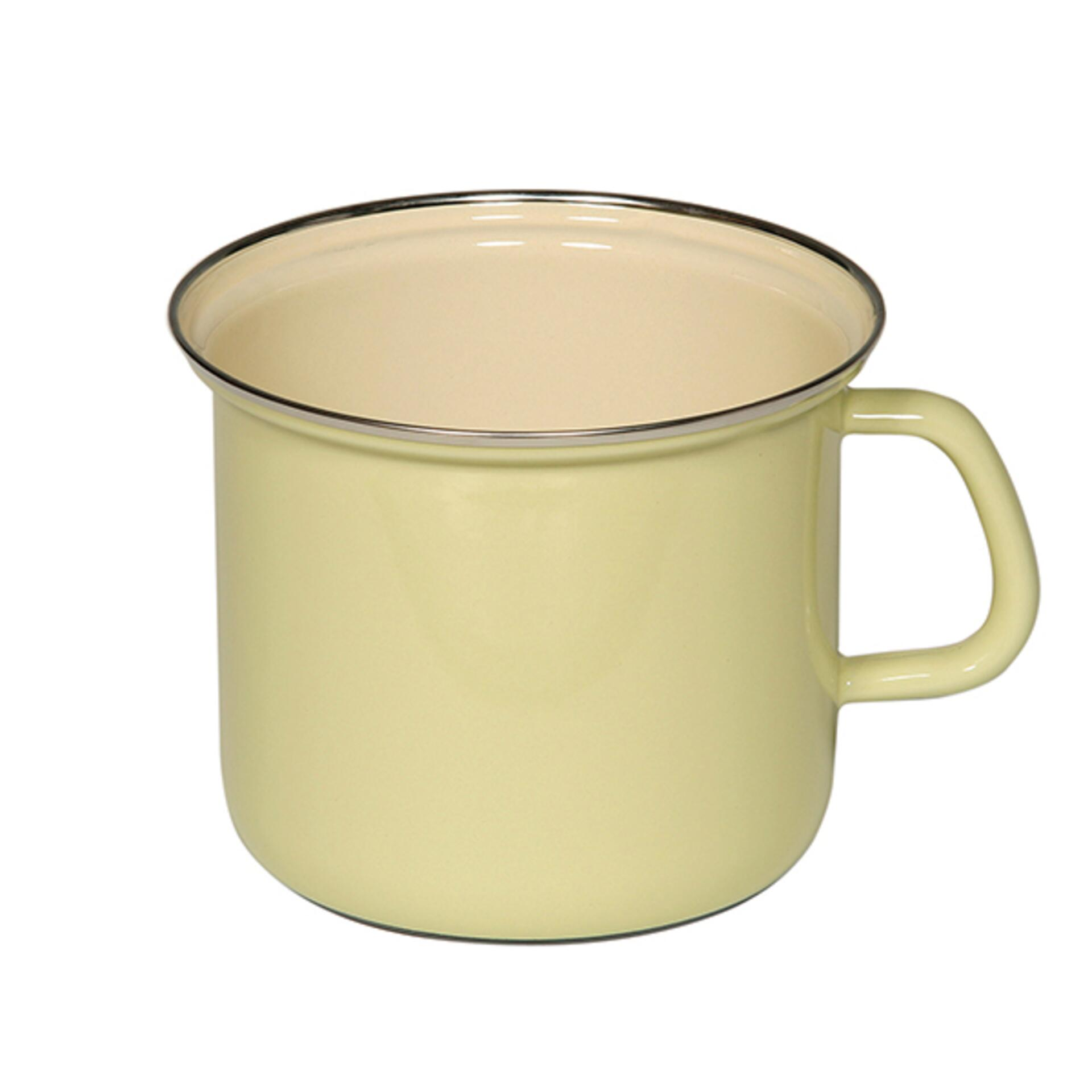 Riess Milchtopf mit Henkel Gelb 16 cm