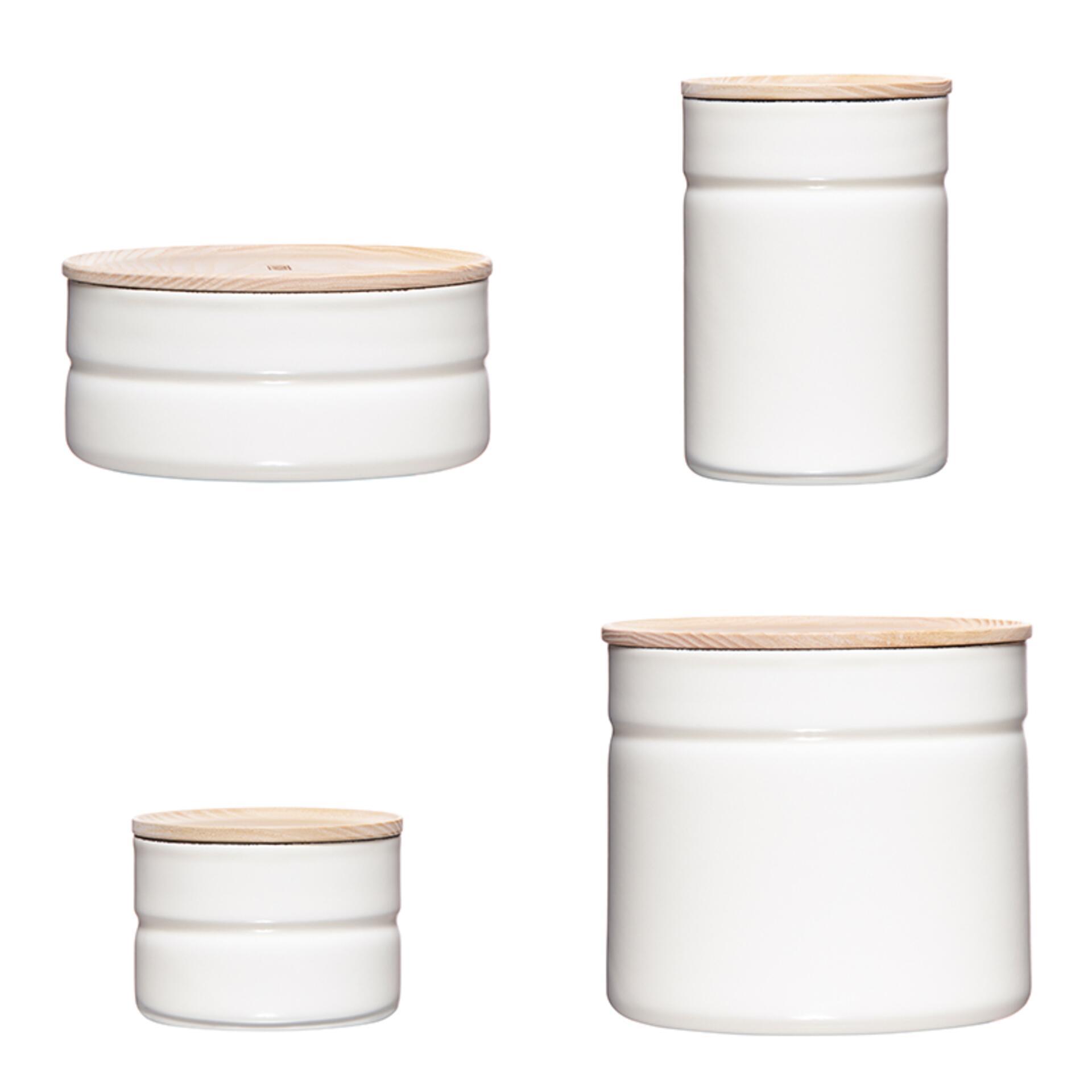 Riess Vorratsdosen Set Weiß