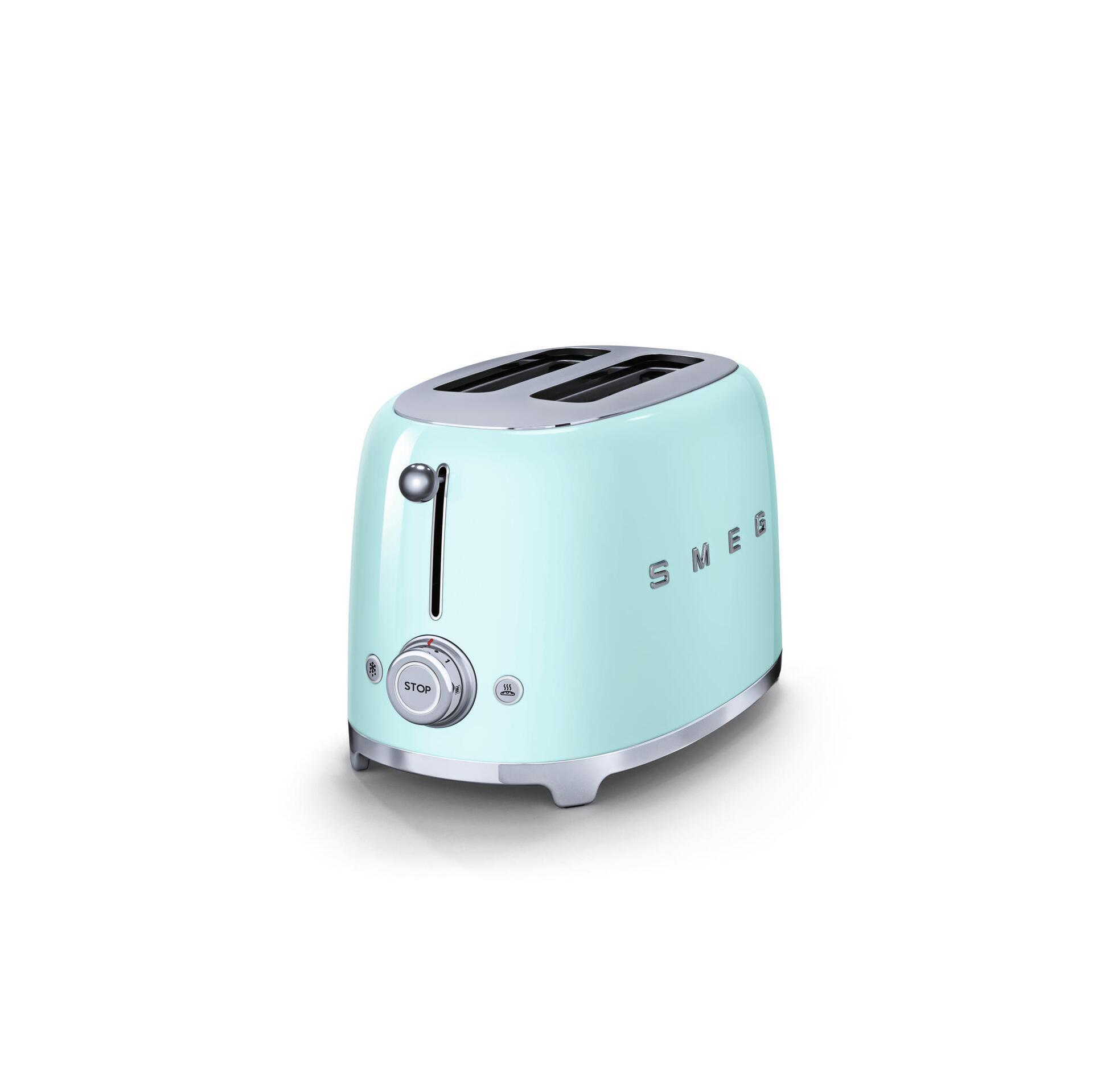 Smeg Retro 2-Scheiben-Toaster Pastellgrün