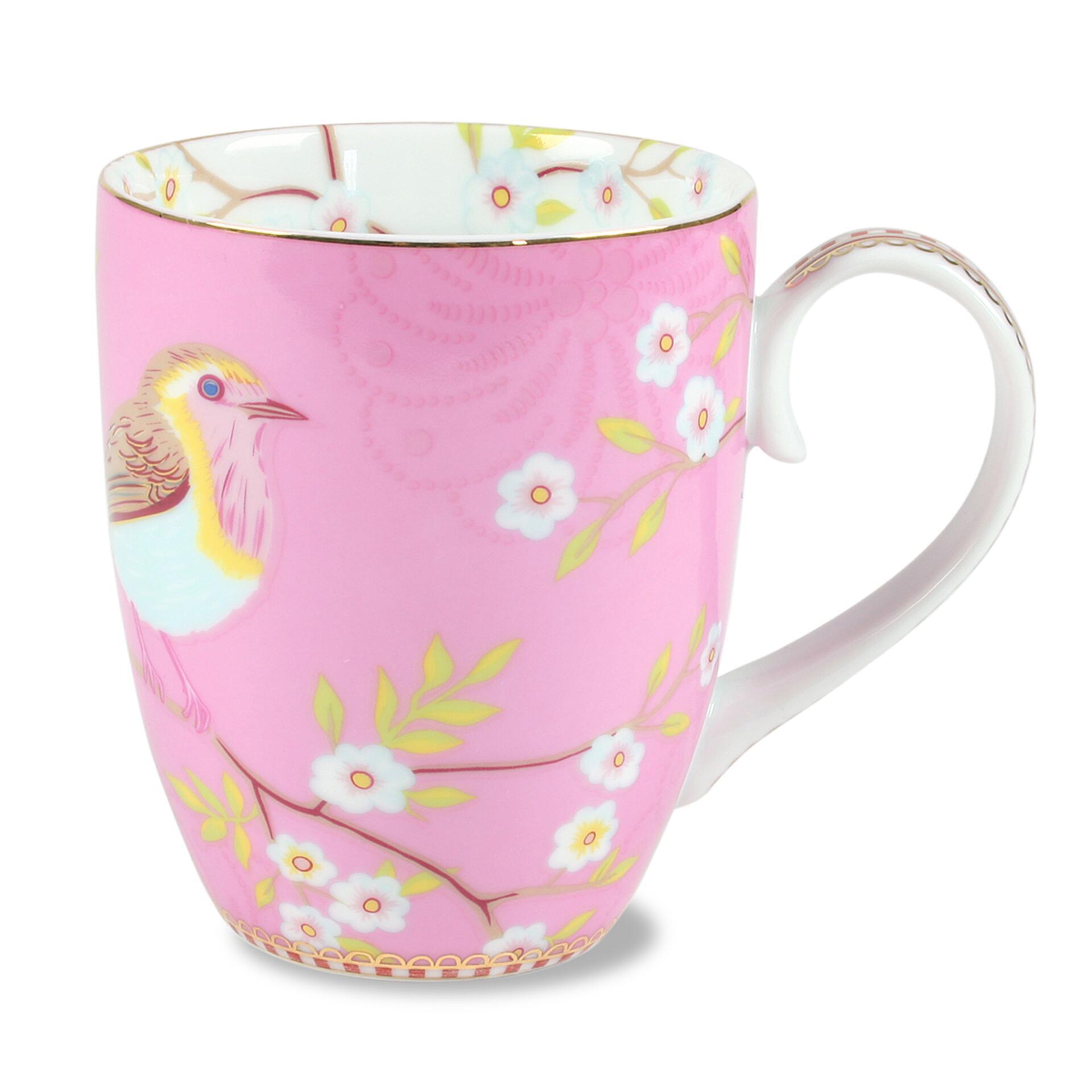 PiP Porzellan Kaffeetasse Early Bird Pink