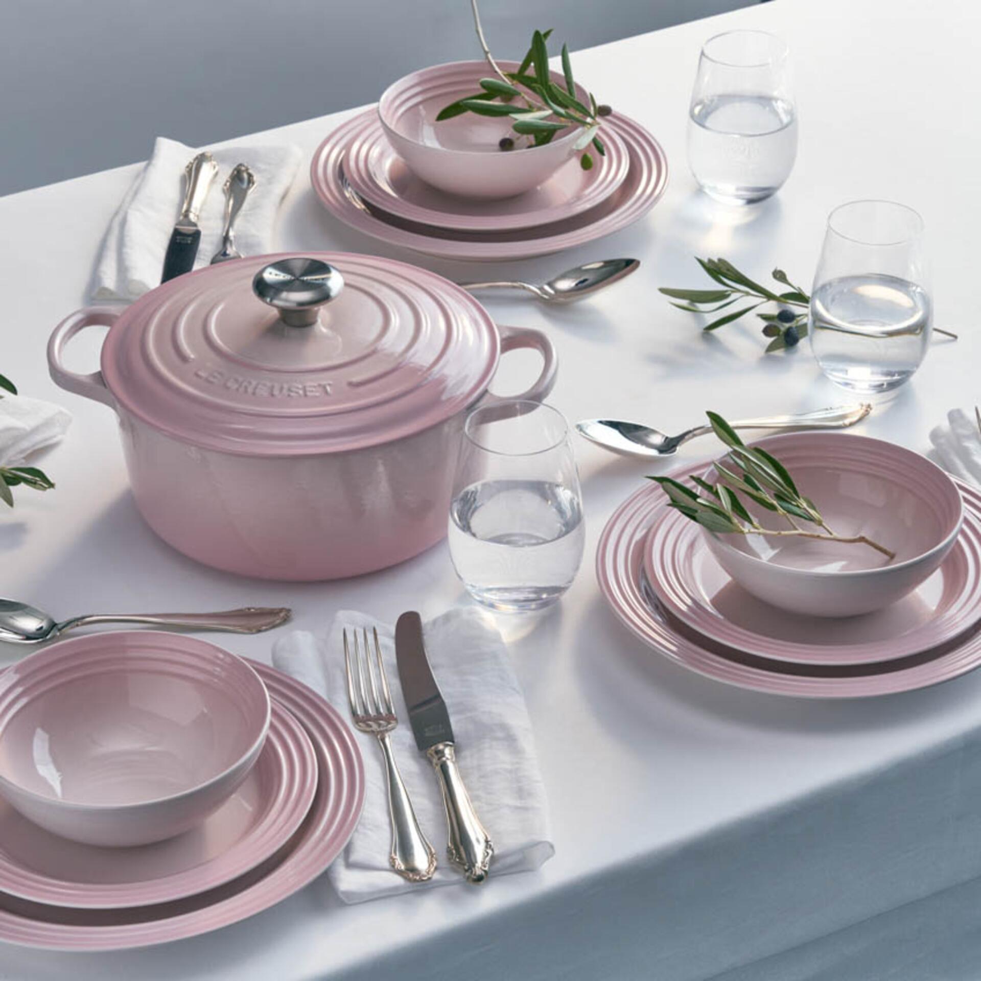 Le Creuset Gourmet-Profitopf Signature 26 cm Shell Pink