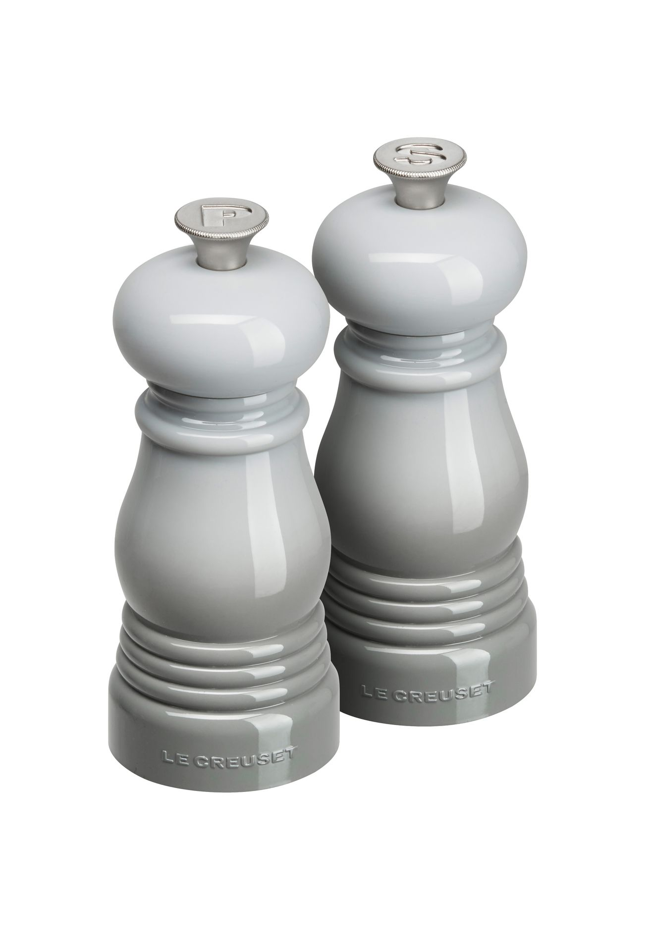 Le Creuset Mühlen-Set Klein Perlgrau 11 cm