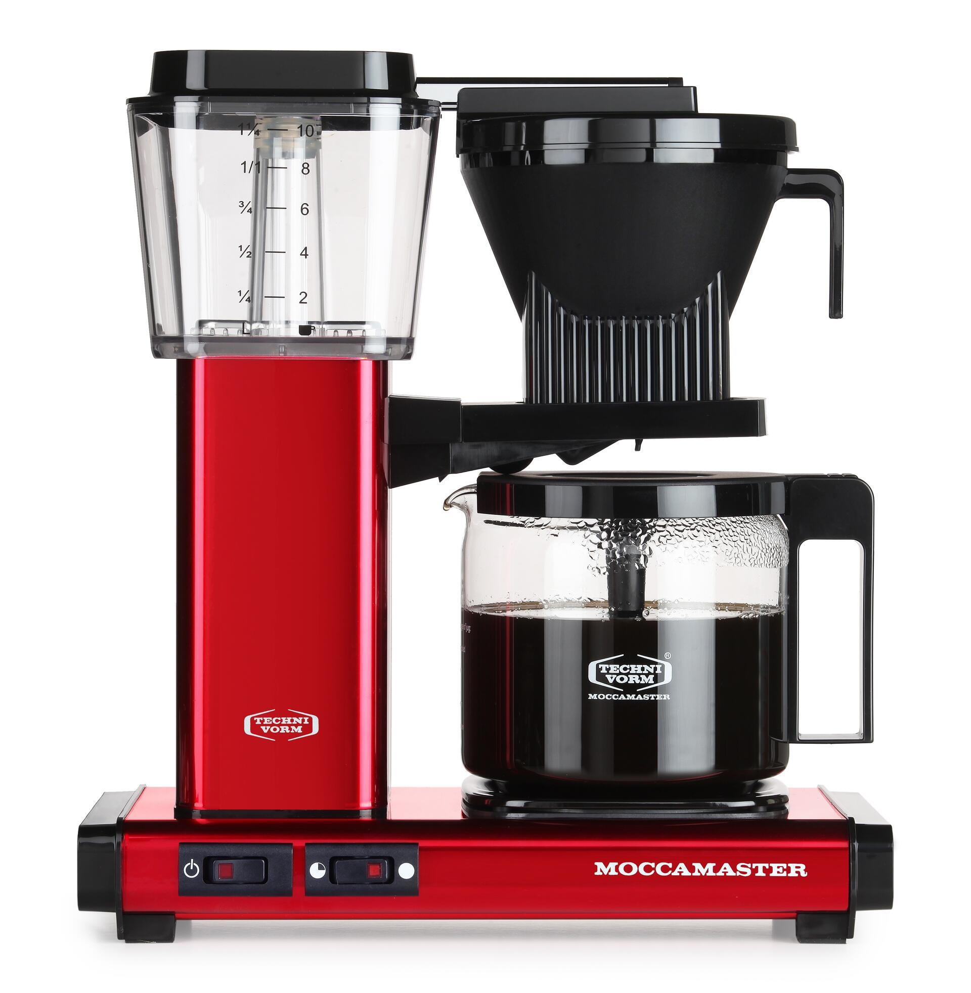 Moccamaster Kaffeemaschine KBG Select Red Metallic