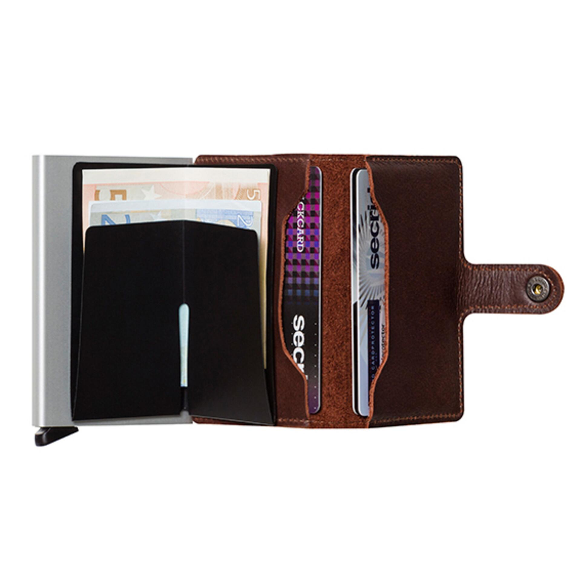 Secrid Miniwallet Original Dark Brown Leder