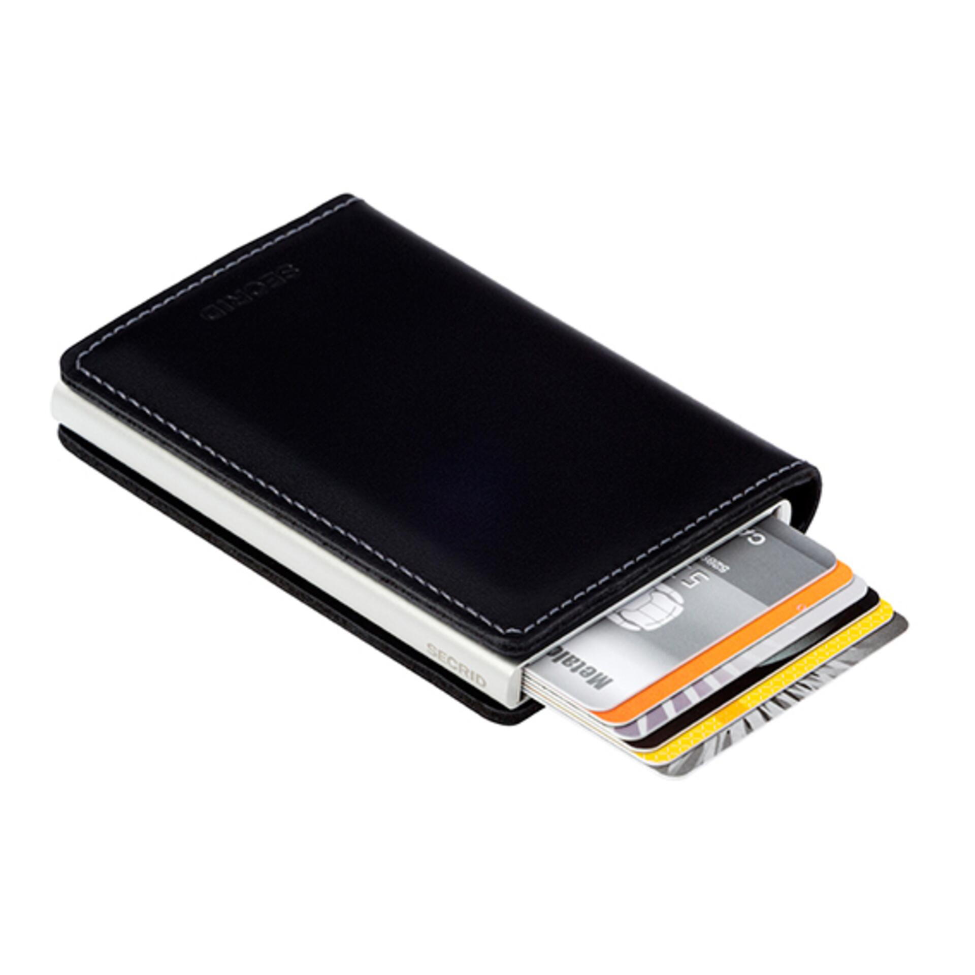Secrid Slimwallet Original Black Leder