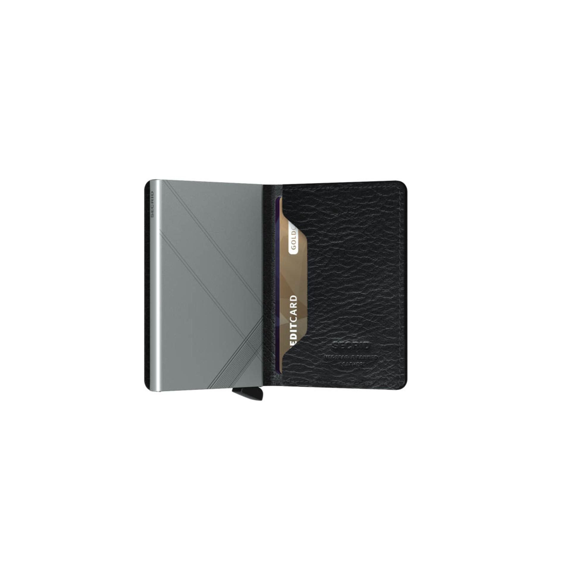 Secrid Slimwallet Stitch Linea Black