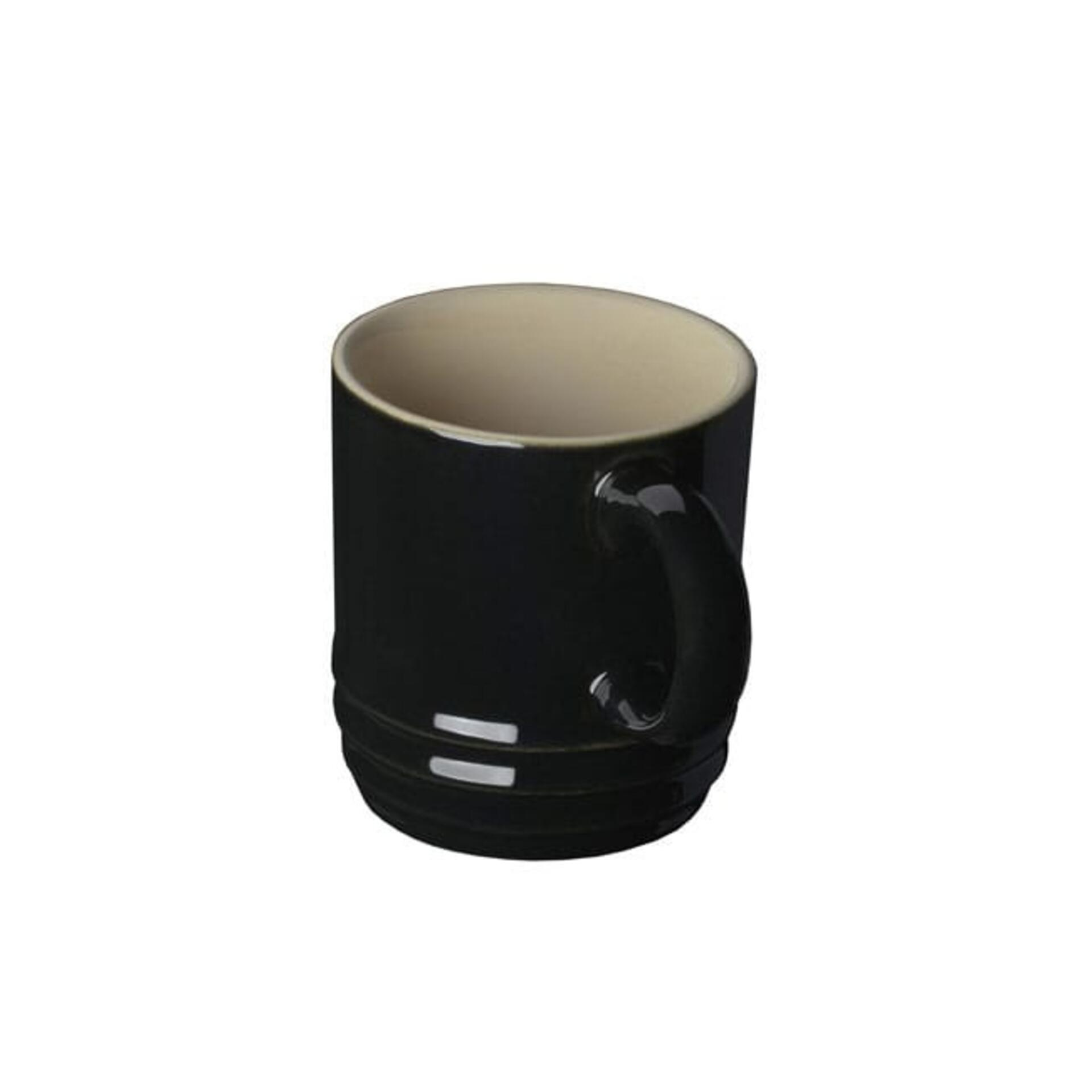 Le Creuset Espressotassen 70 ml Schwarz