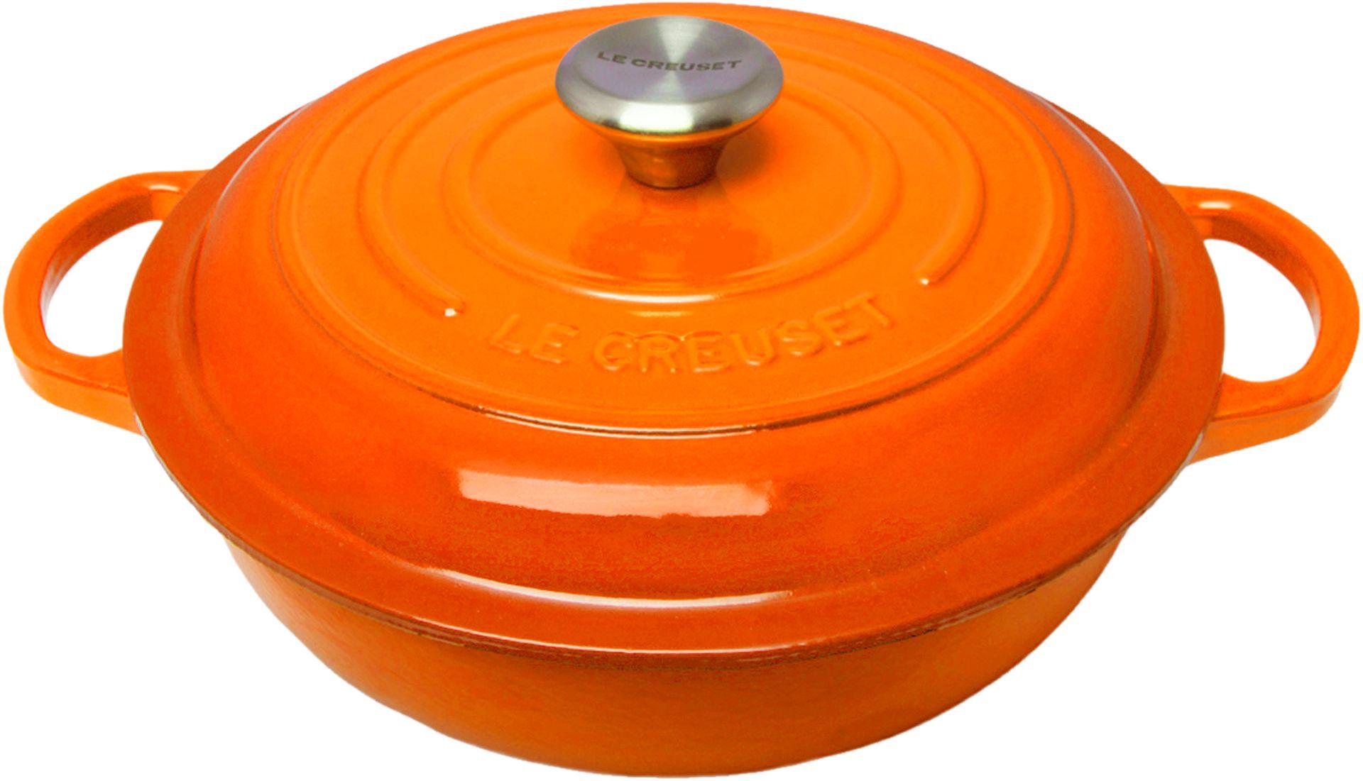 Le Creuset  Stew Pot Signature 22 cm Ofenrot