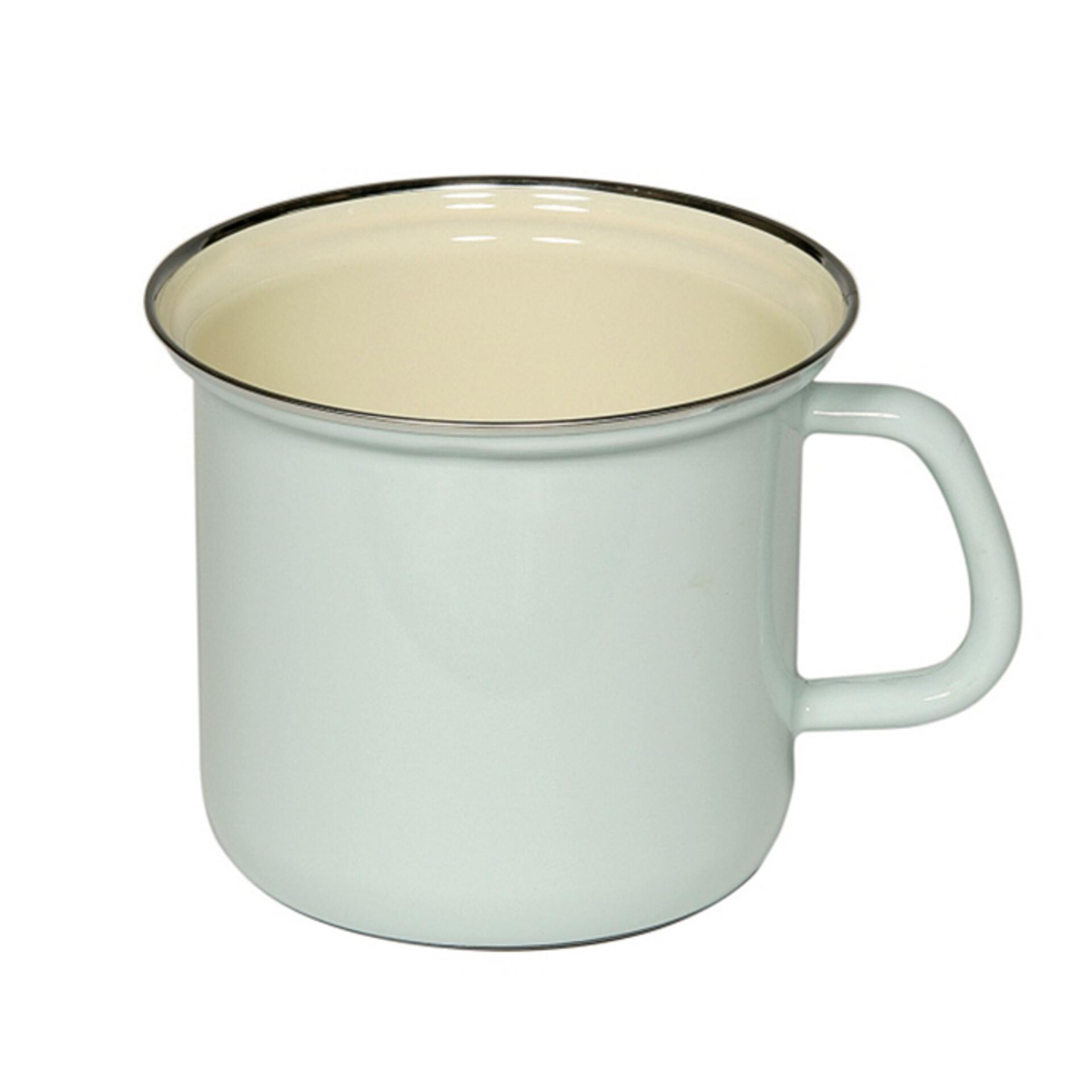 Riess Milchtopf mit Henkel Türkis
