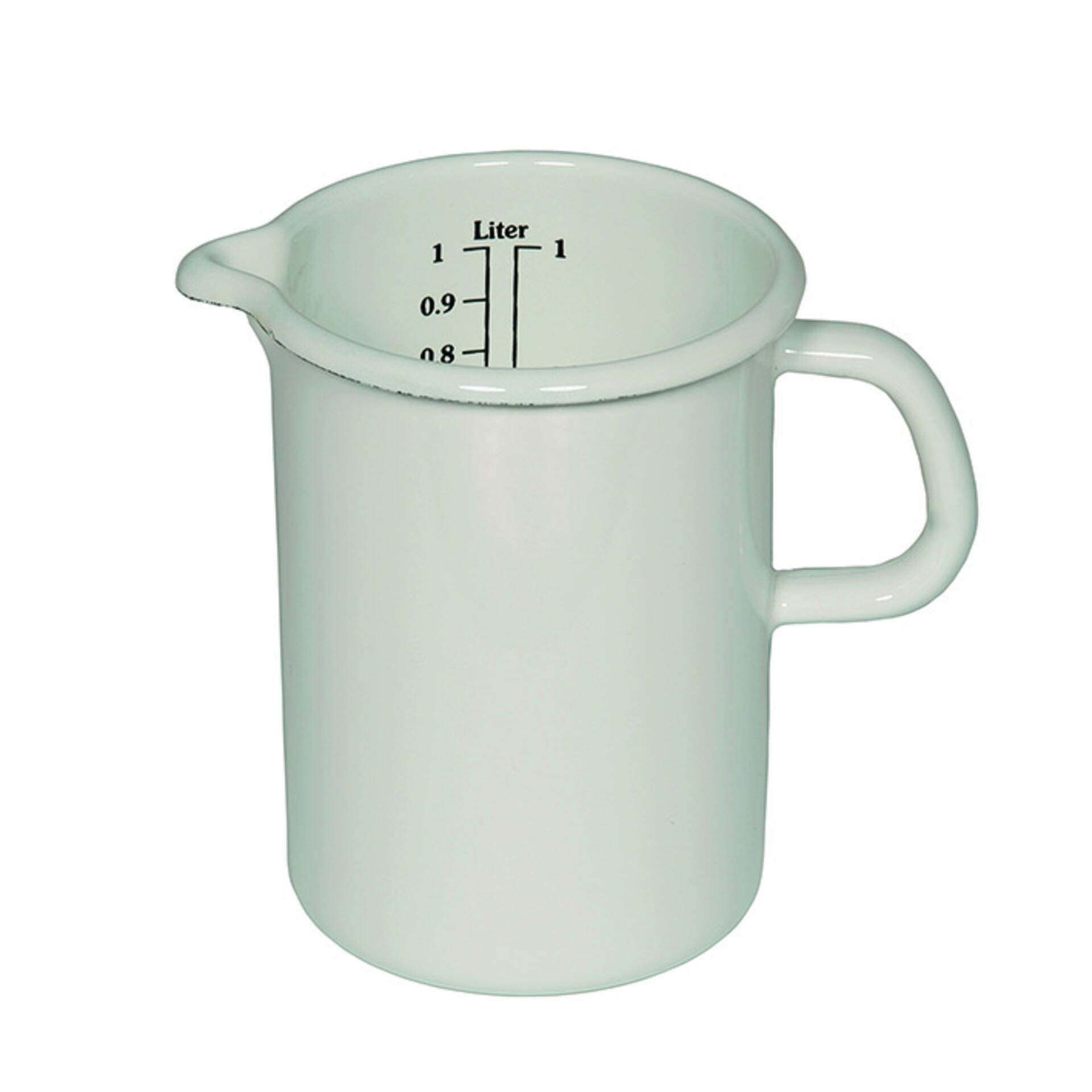 Riess Küchenmass 0,5 l Weiß