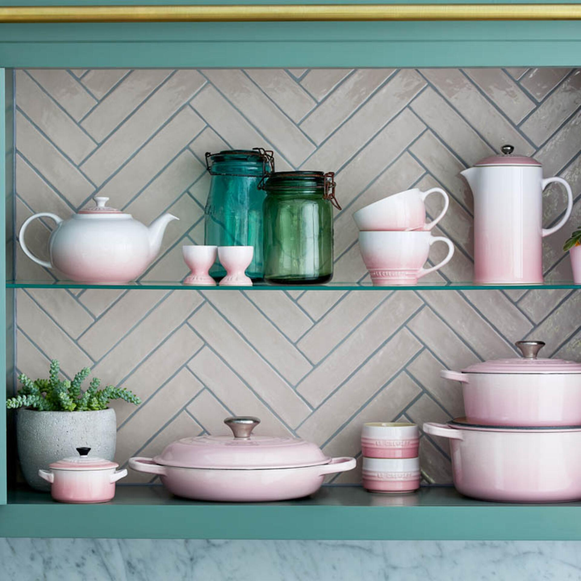 Le Creuset Topf für Kochkellen Shell Pink