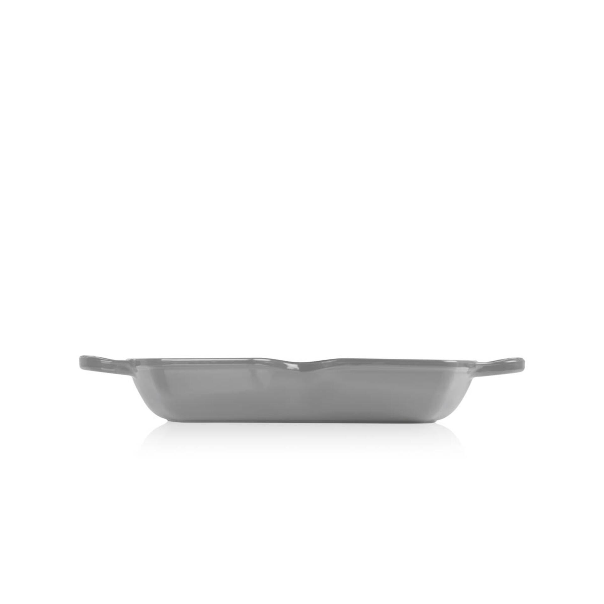 Le Creuset Grillpfanne Signature Quadratisch Hoch 30 cm Perlgrau
