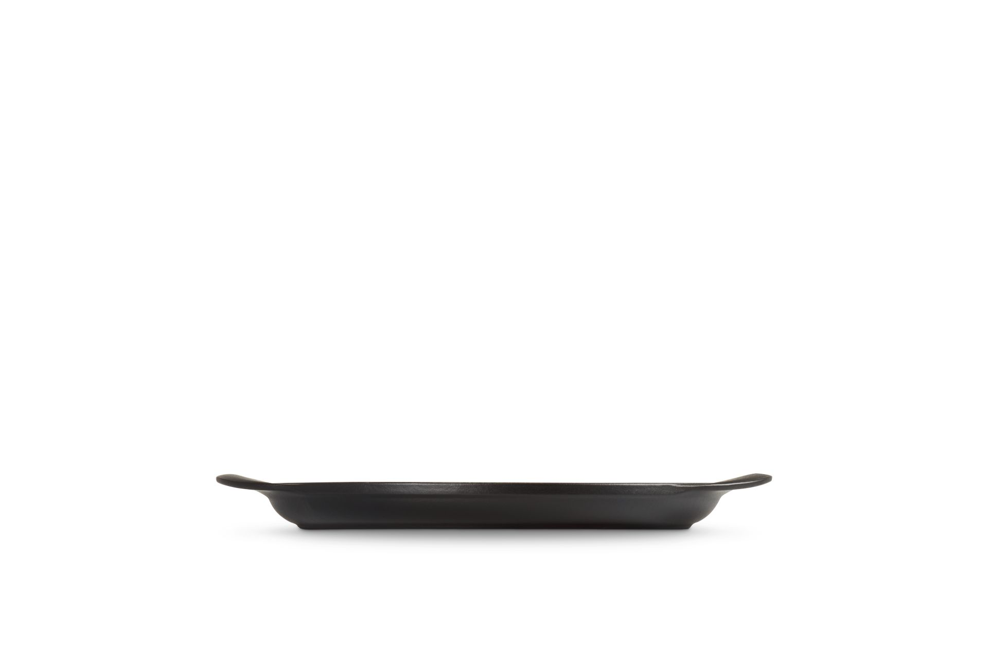 Le Creuset Grillplatte Rund 25 cm Schwarz