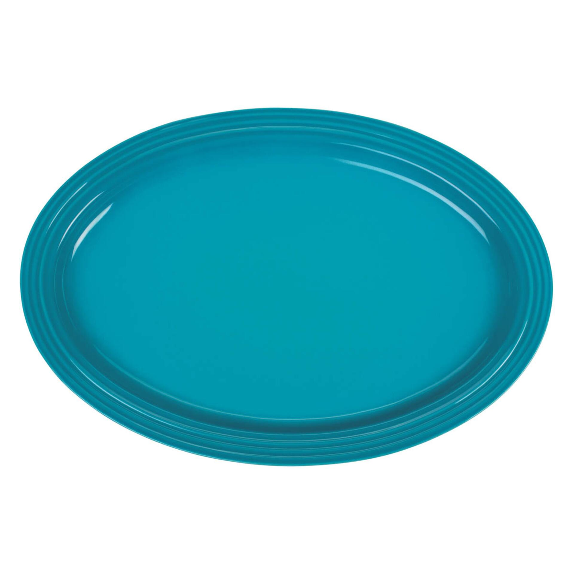 Le Creuset Servierplatte oval 46 cm Karibik