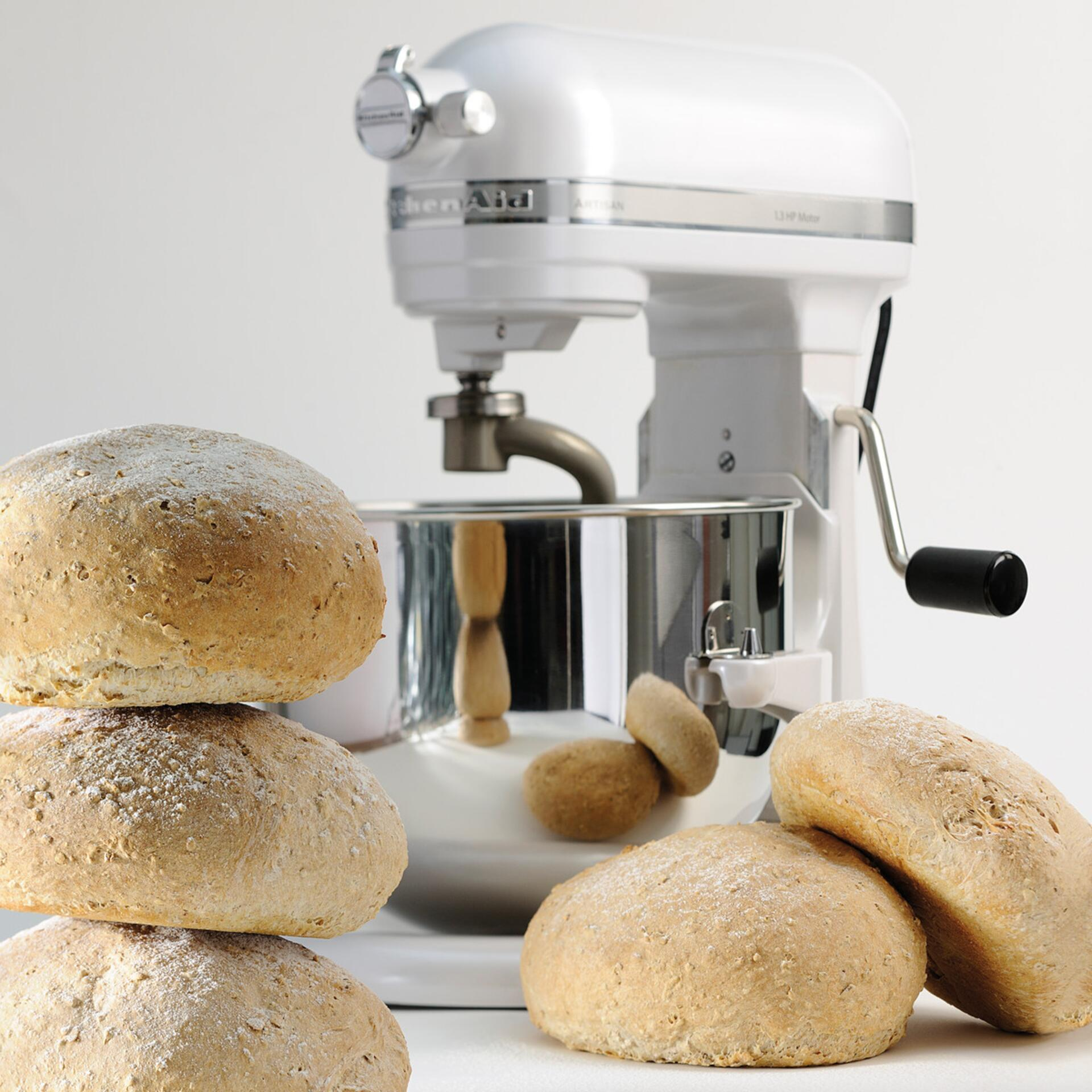 Kitchenaid Artisan Küchenmaschine 6,9 Liter Frosted Pearl 5KSM7580XEFP