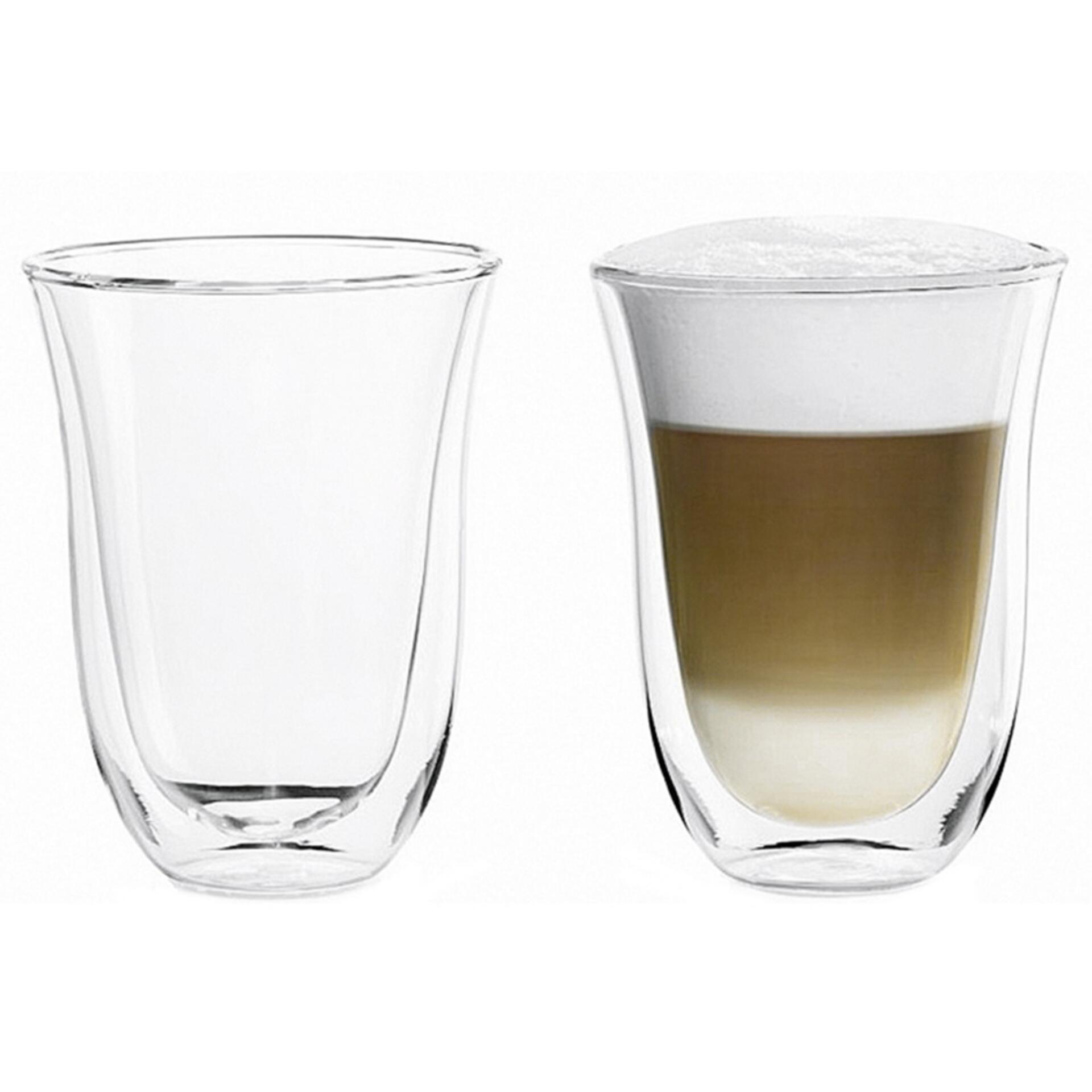 De'Longhi Latte Macchiato Gläser 2er-Set