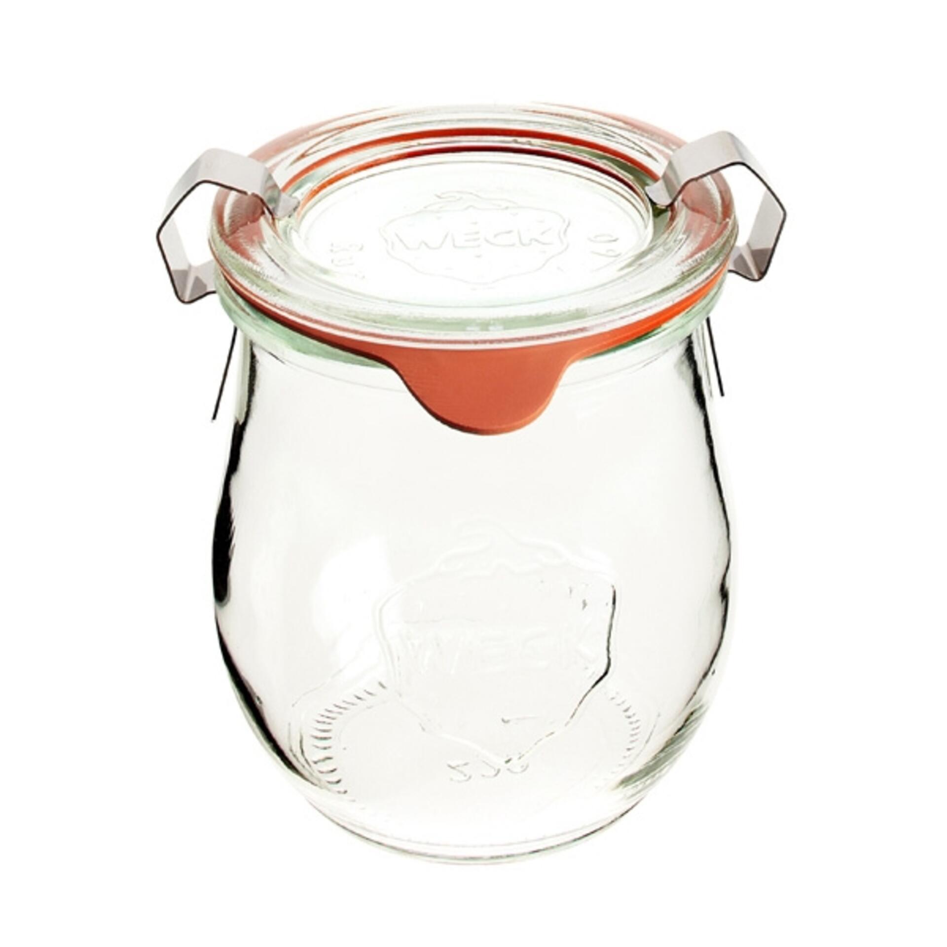 Weck Tulpenglas 220 ml mit Deckel