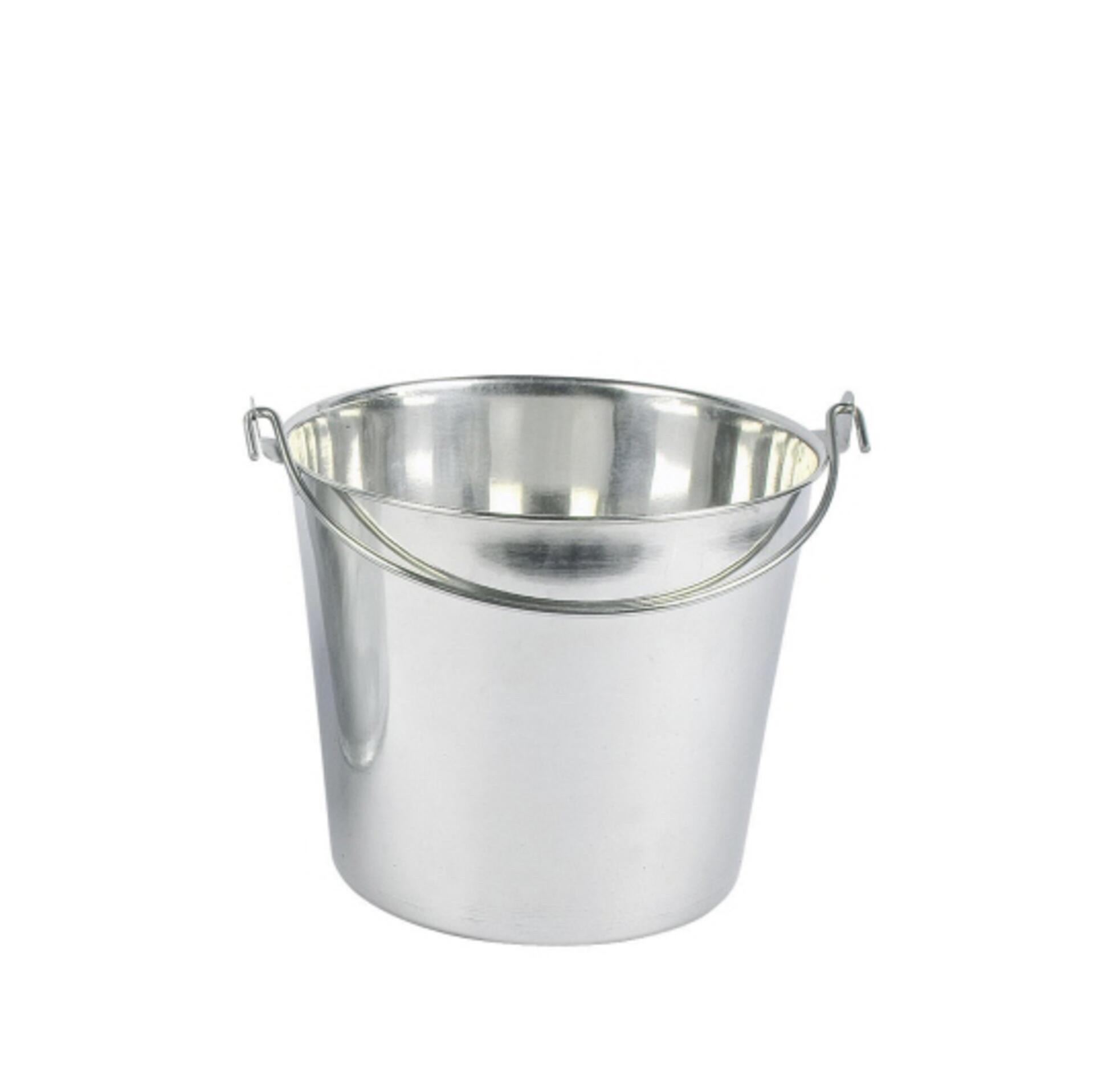 Eimer aus Edelstahl 8 Liter